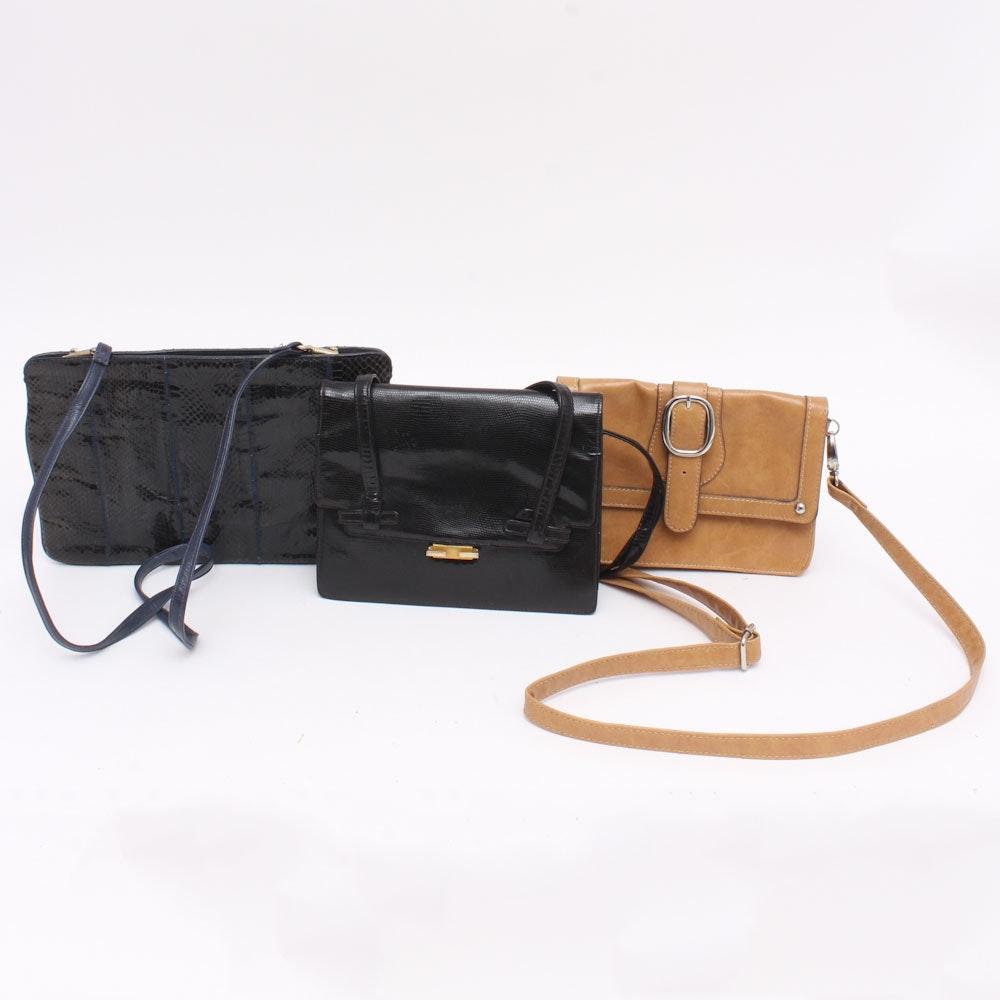Three Fashion Handbags