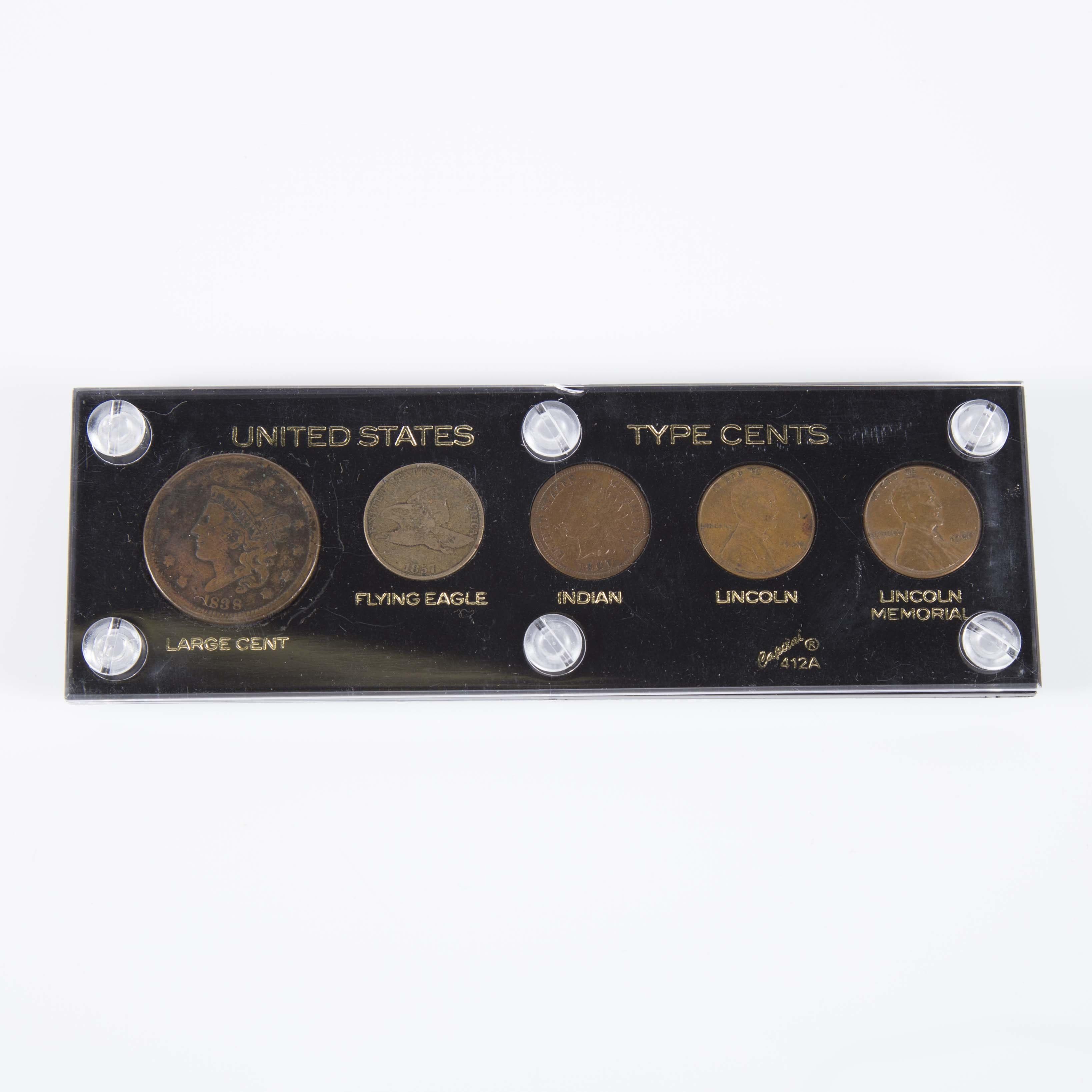 United States Type Cents