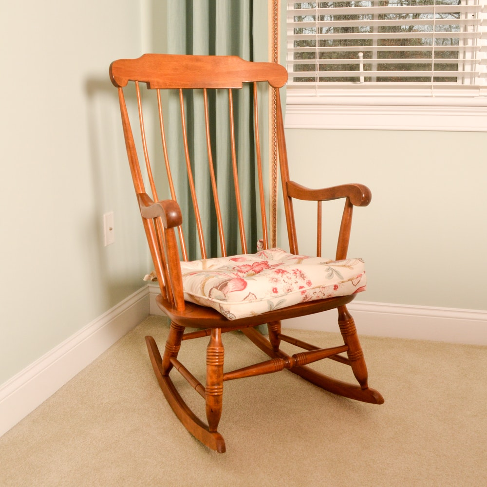Nichols & Stone Maple Rocking Chair
