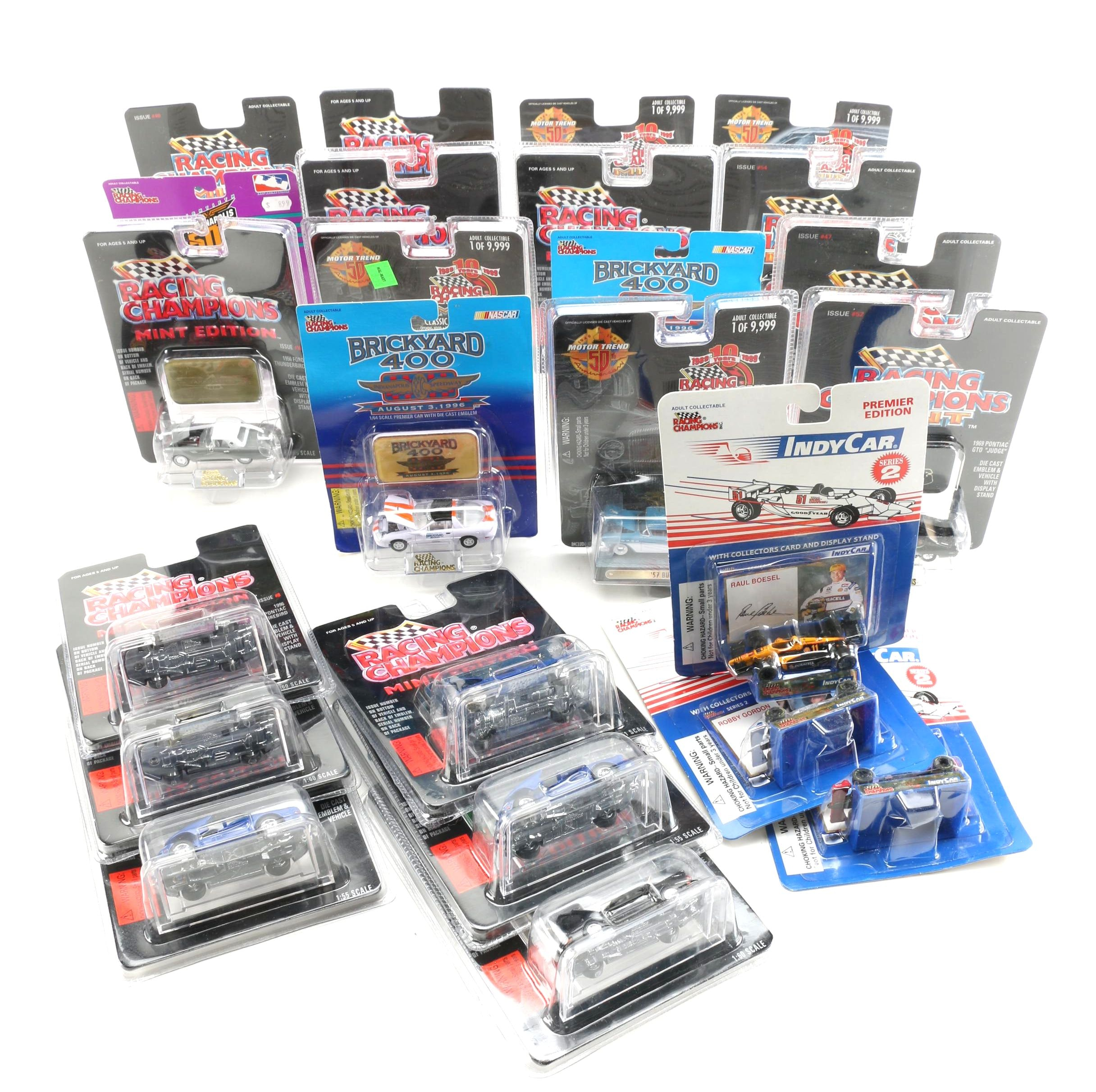 Assortment of Racing Champions Die-Cast Cars