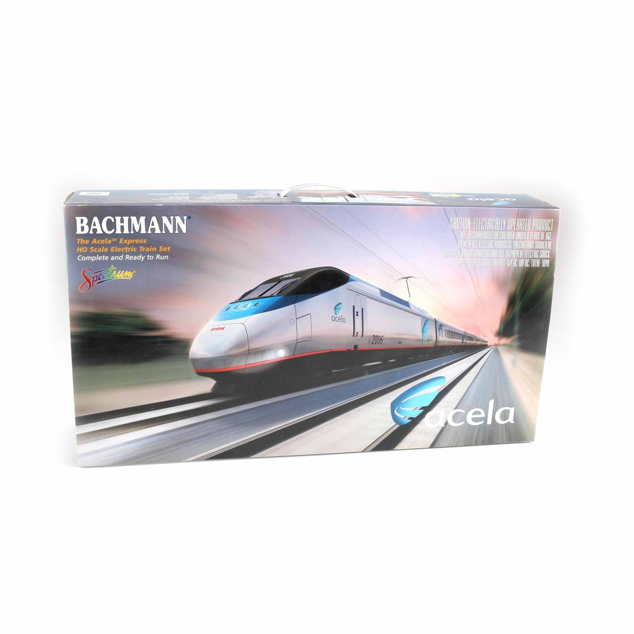 Bachmann Acela Express Electric Train Set