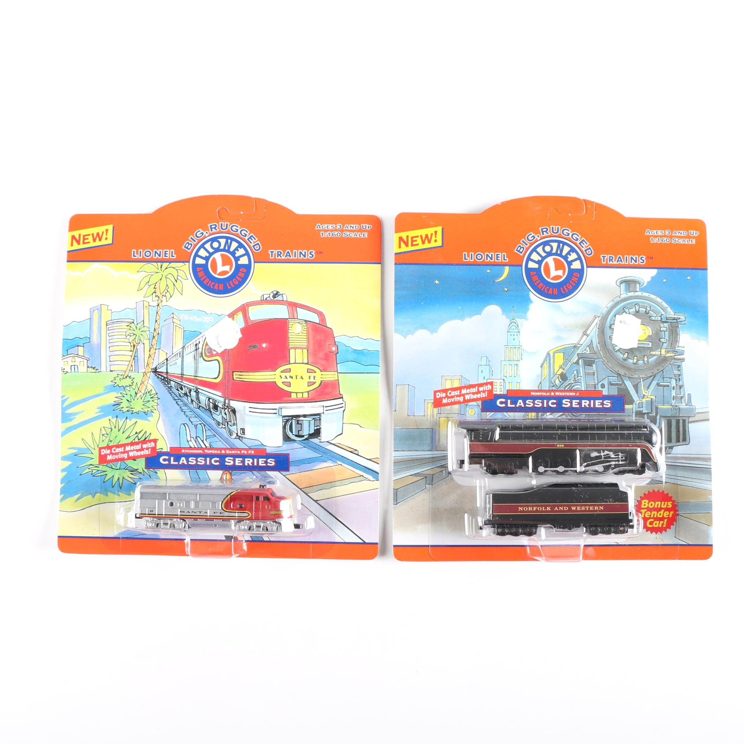 Pair of Die-Cast Lionel Trains