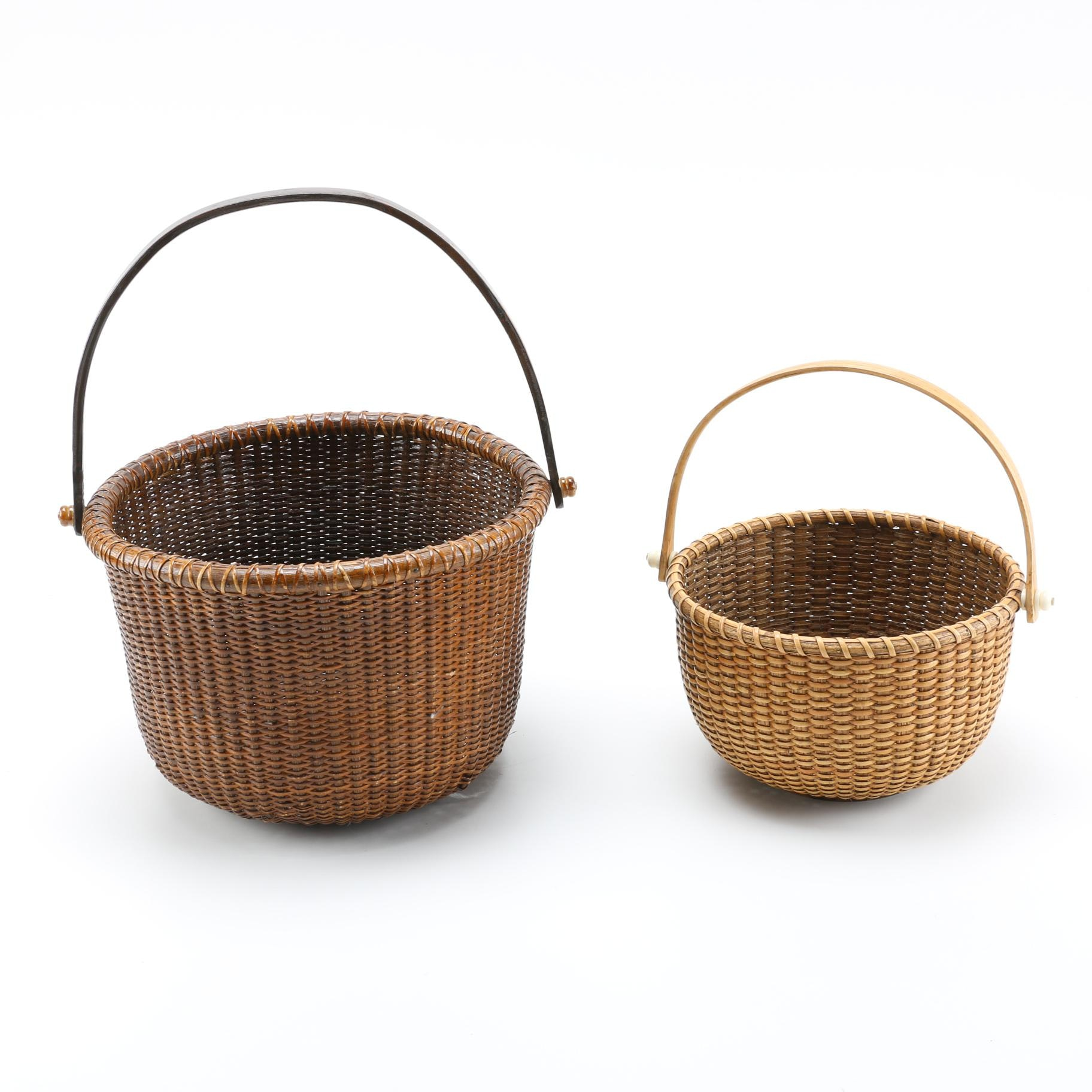 Pair of Wicker Baskets