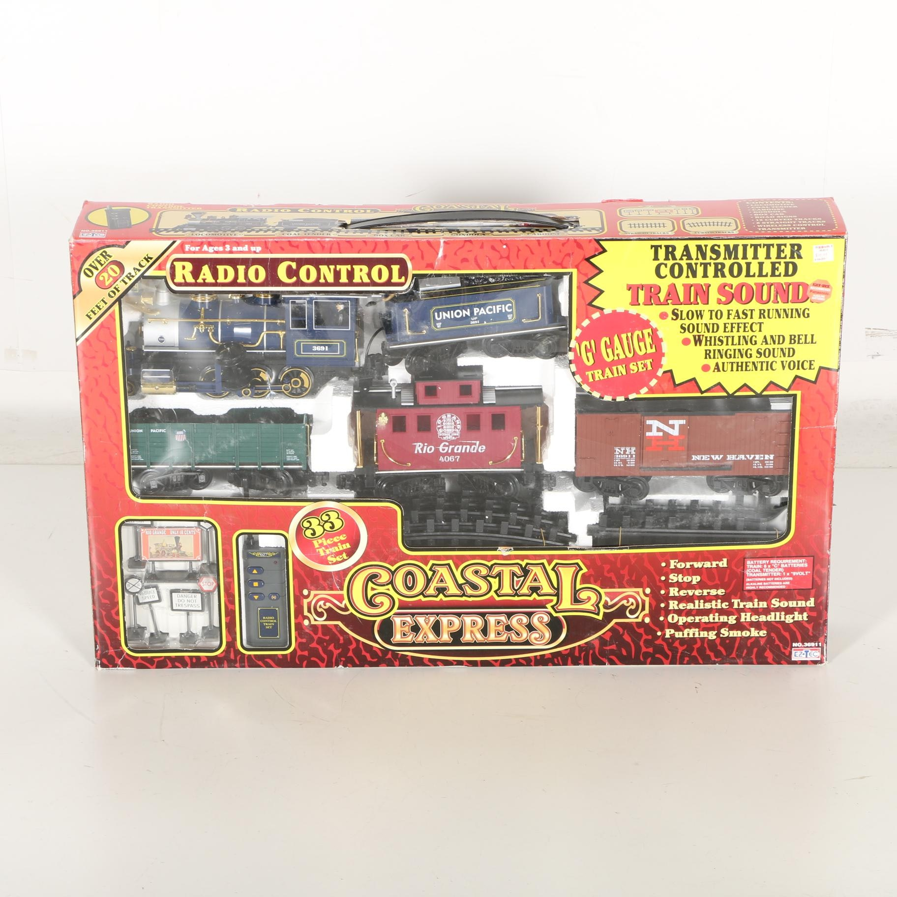 Coastal Express Train Set