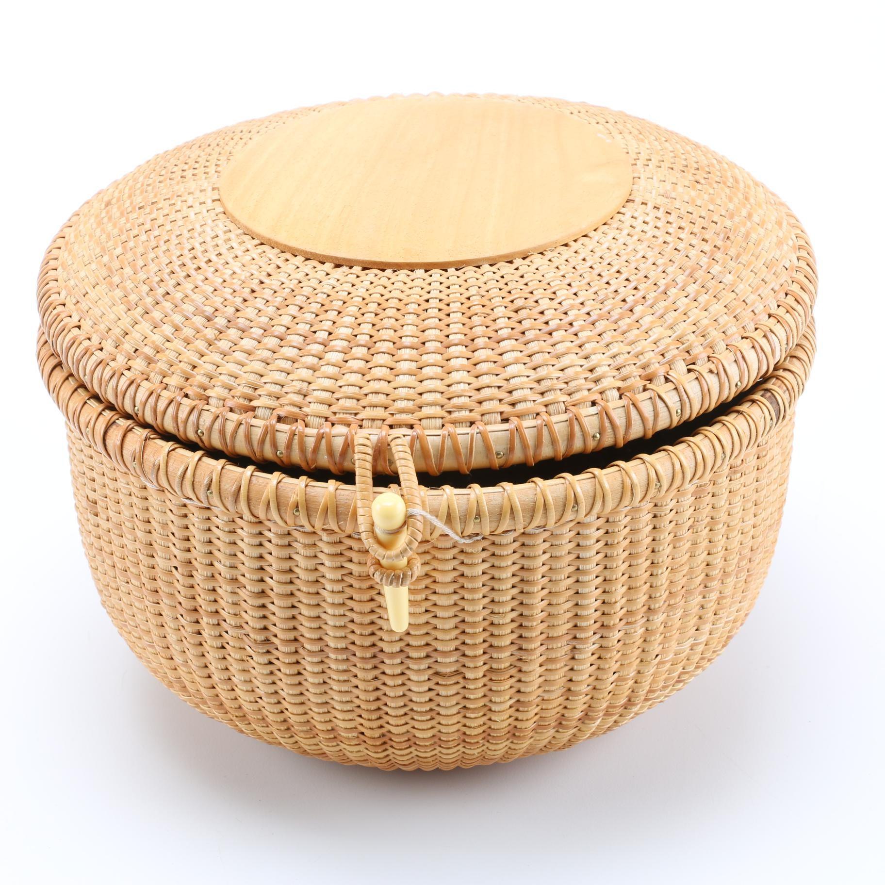 Nantucket Lined Basket