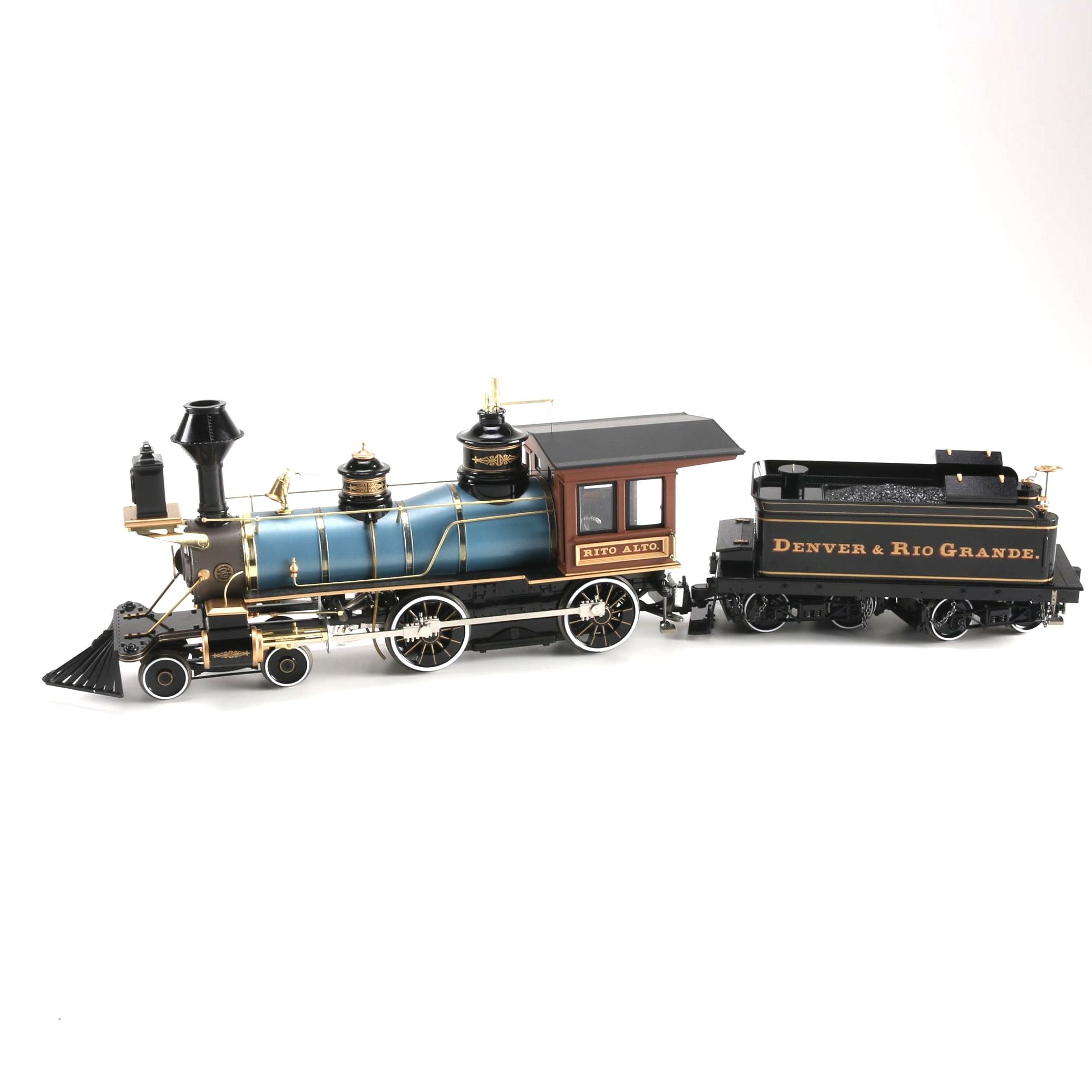 Bachmann Spectrum Denver and Rio Grande Locomotive and Tender