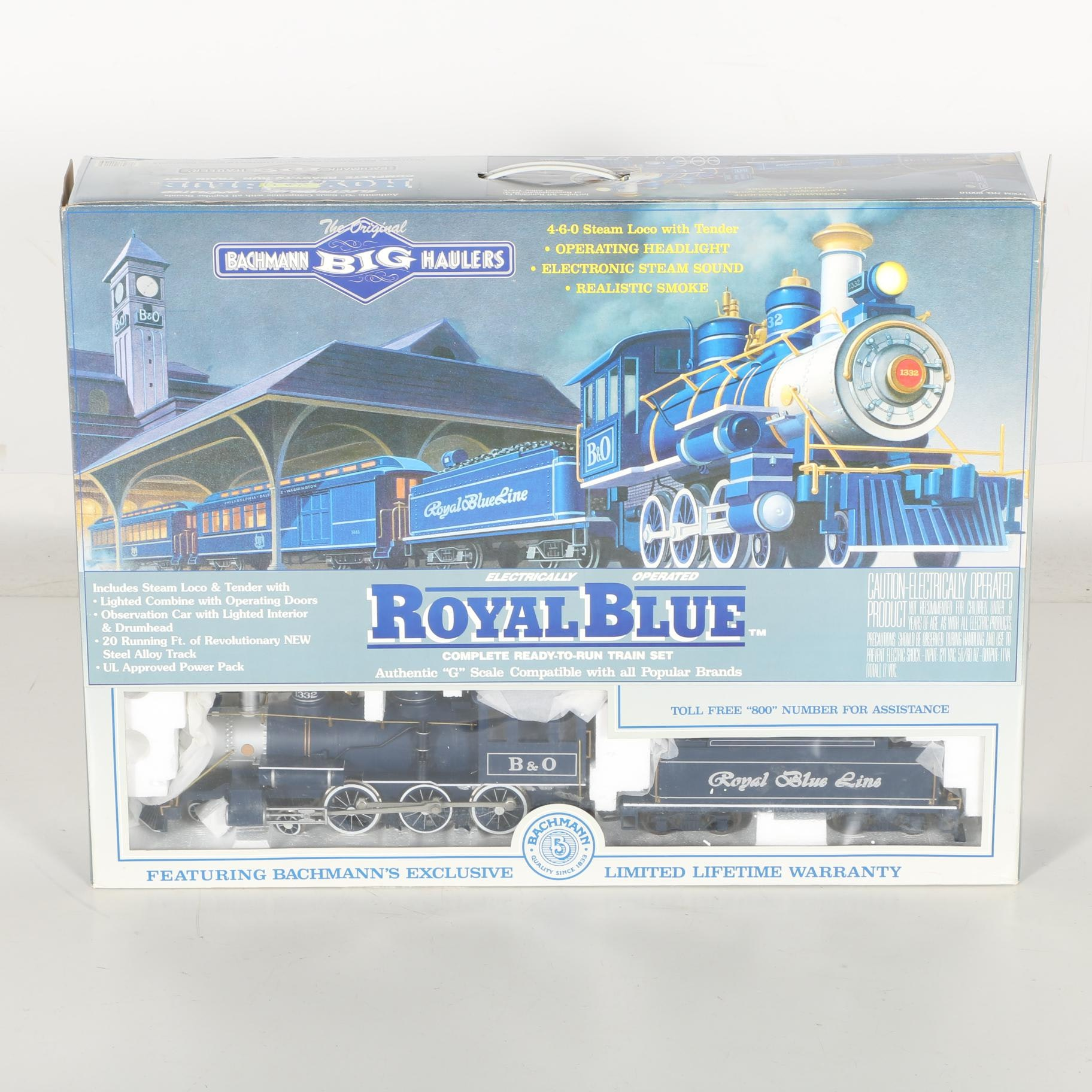 "Bachman ""Royal Blue"" Train Set"