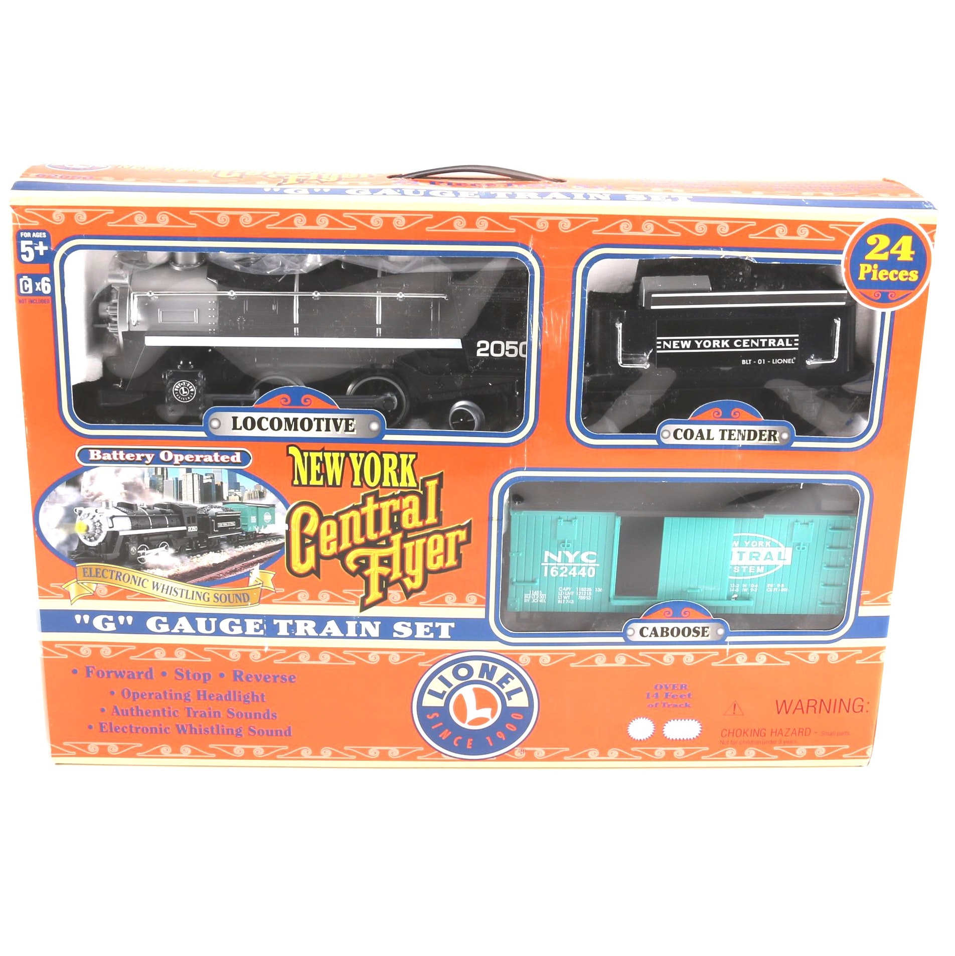 Lionel New York Central Flyer Train Set