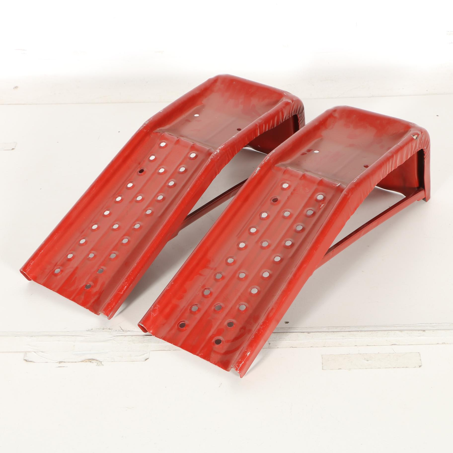 Metal Safety Brace Ramps