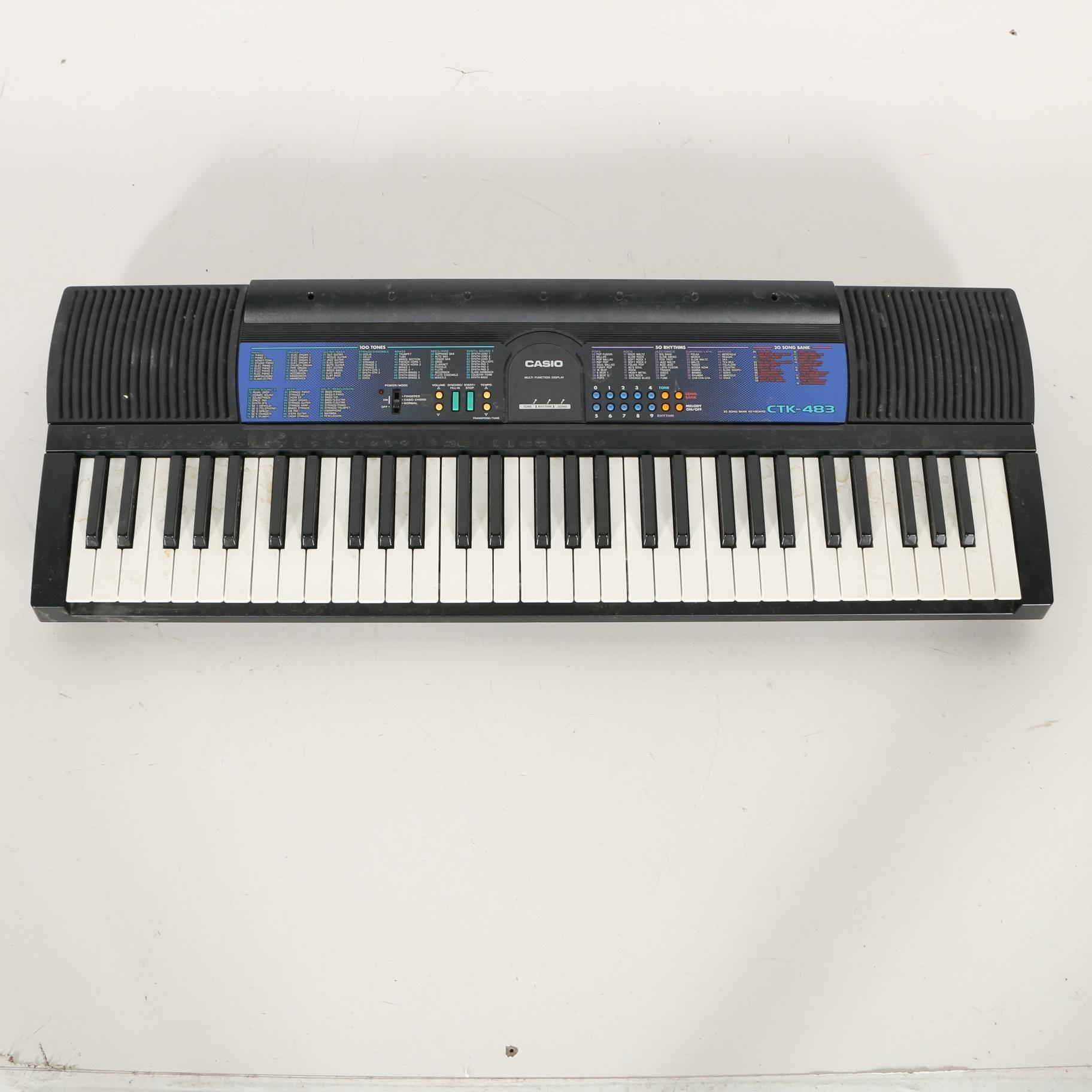 Casio CTK-483 Electronic Keyboard