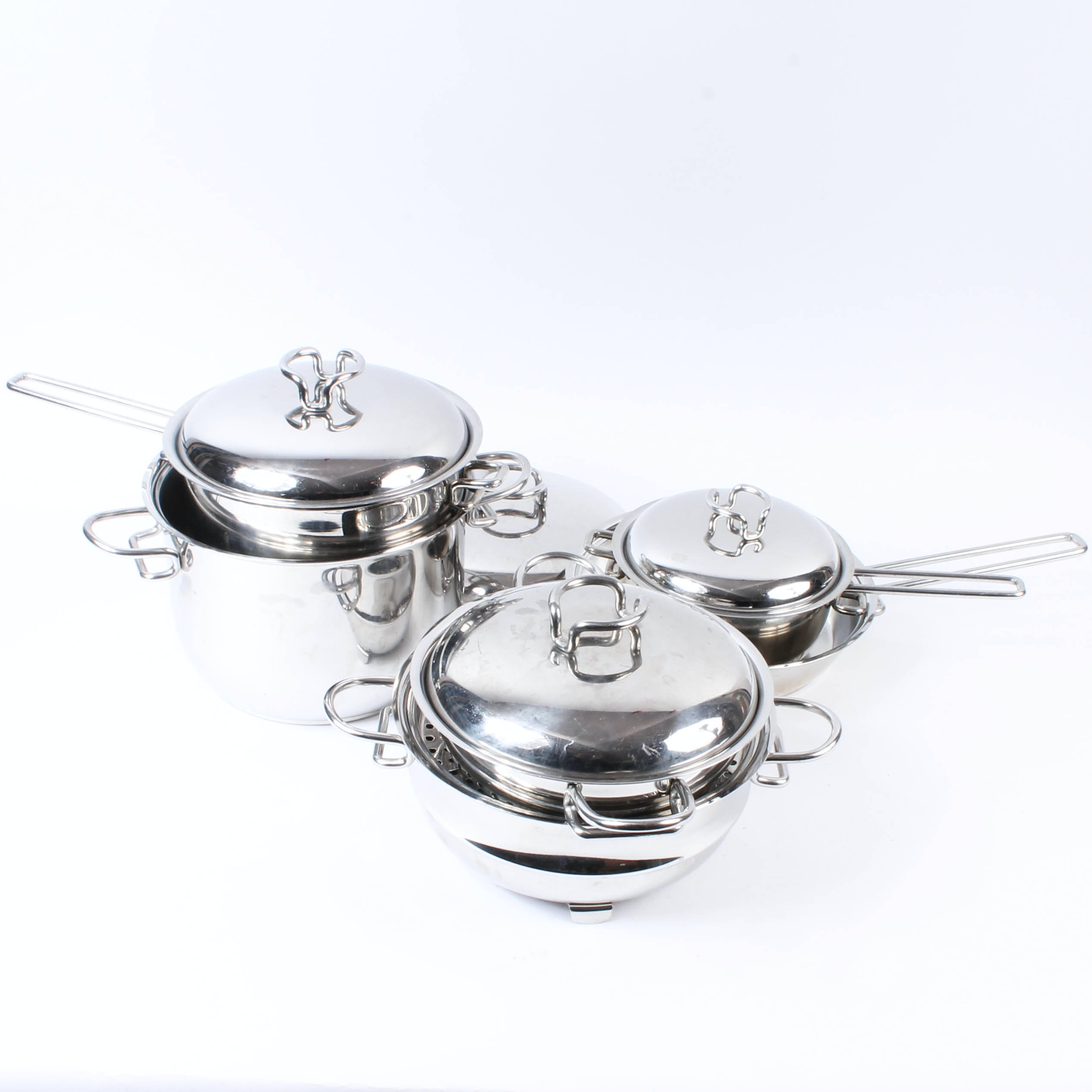 Stainless Steel Cookware Set by Zini