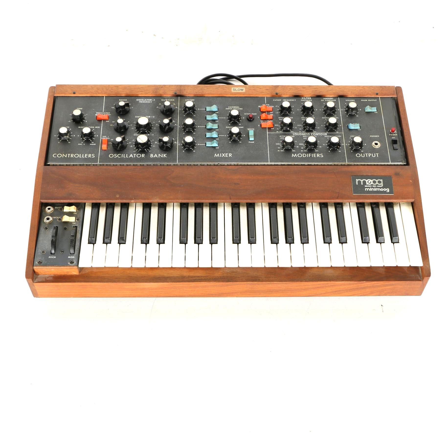 Circa 1972 Minimoog Model D Analog Synthesizer