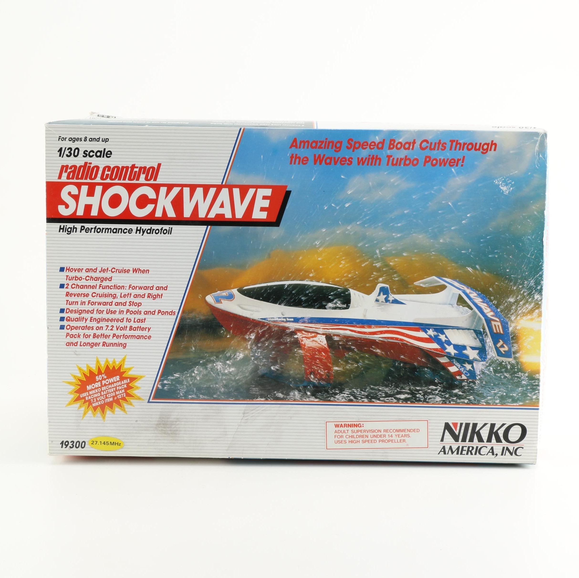 Radio Control Hydrofoil Replica Speedboat