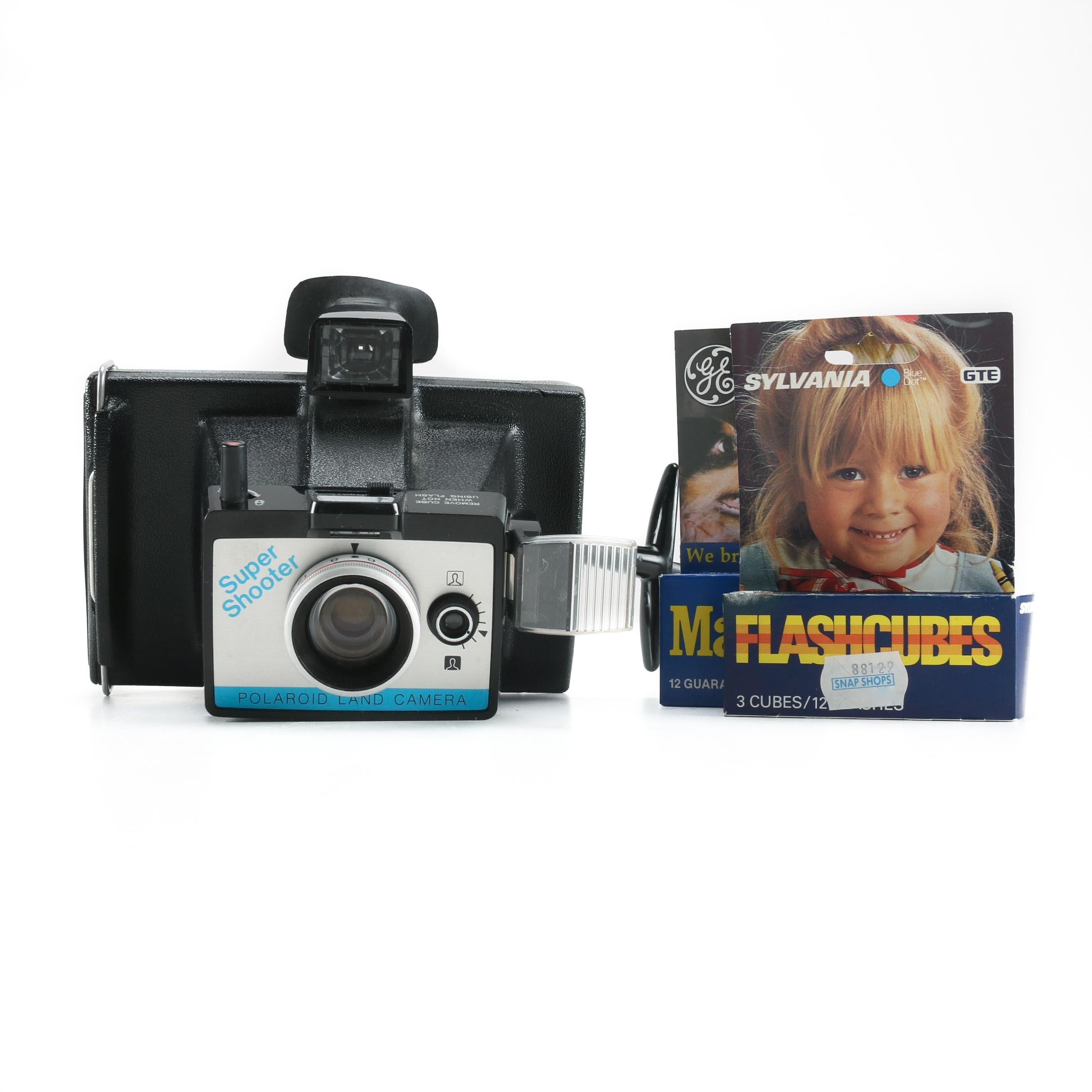 "Polaroid ""Super Shooter"" Land Camera"