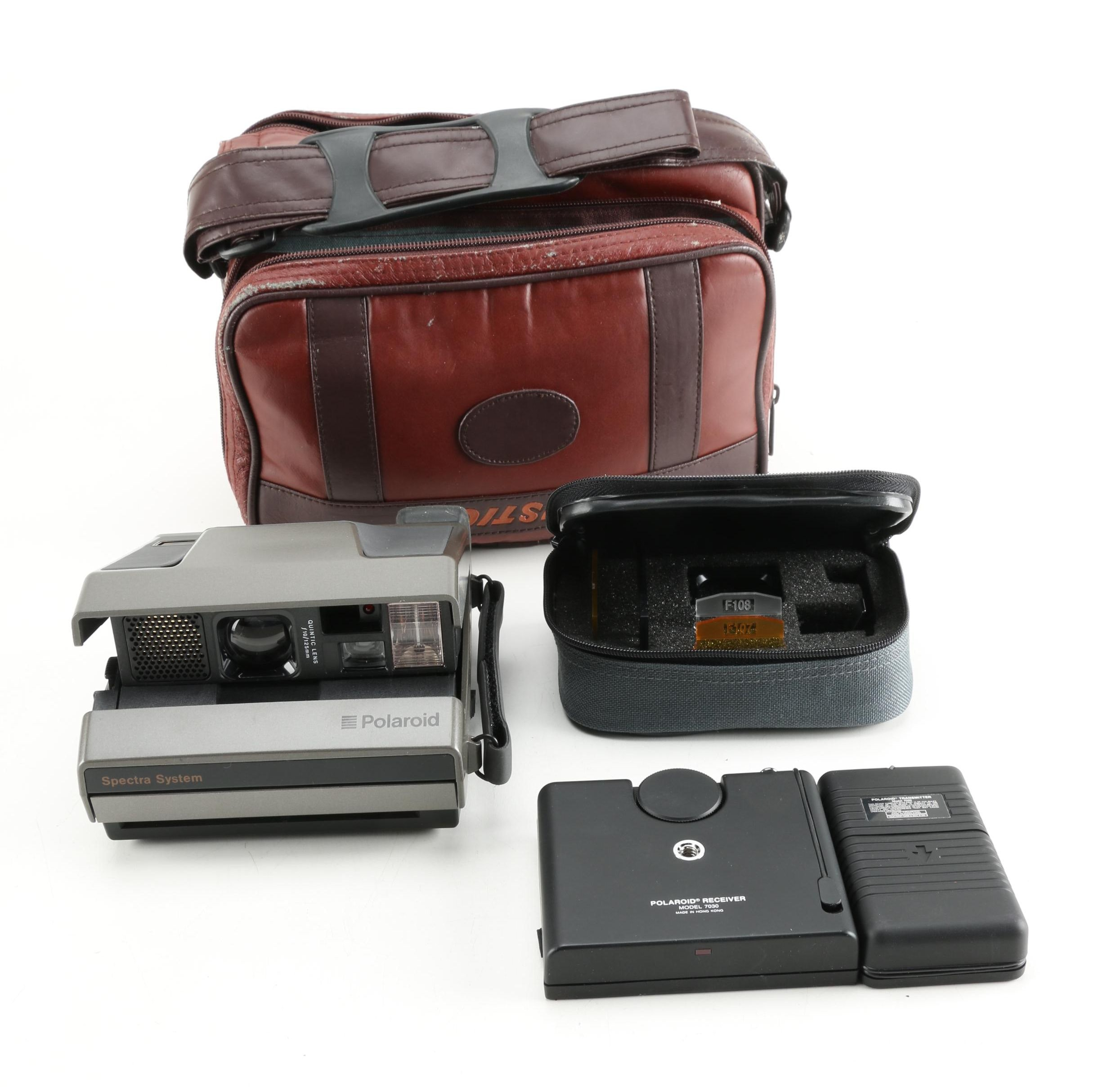 Polaroid Spectra System Camera and Accessories
