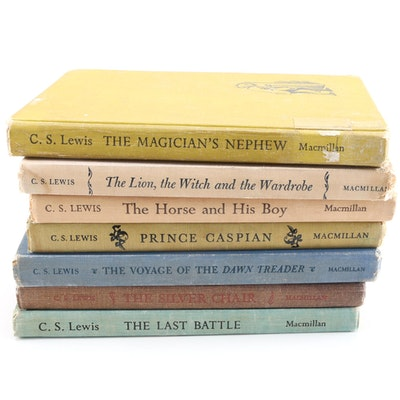 """First American Edition, Later Printings of """"The Chronicles of Narnia"""" Series by C.S. Lewis"""