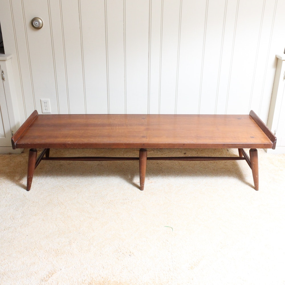 Mid-Century Wooden Coffee Table