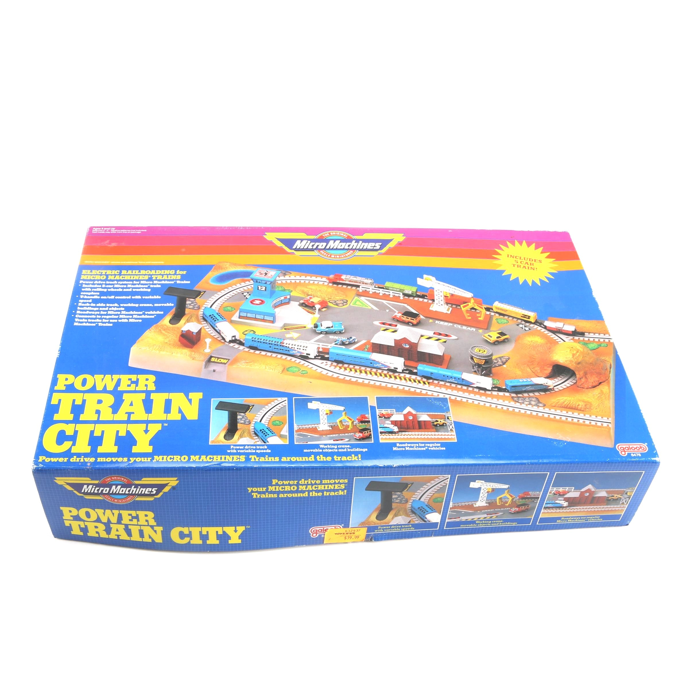 Micro Machines Power Train City