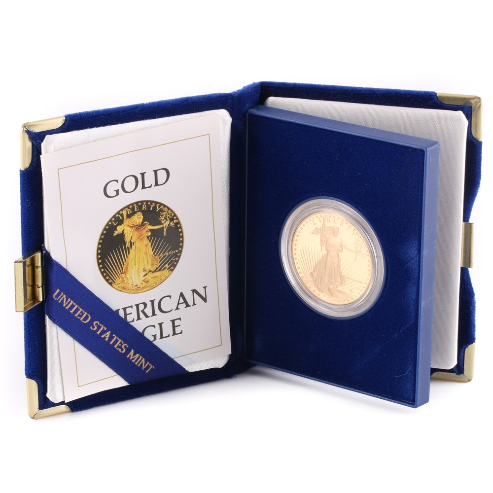 American Eagle One Ounce Proof U.S. Gold Bullion Coin