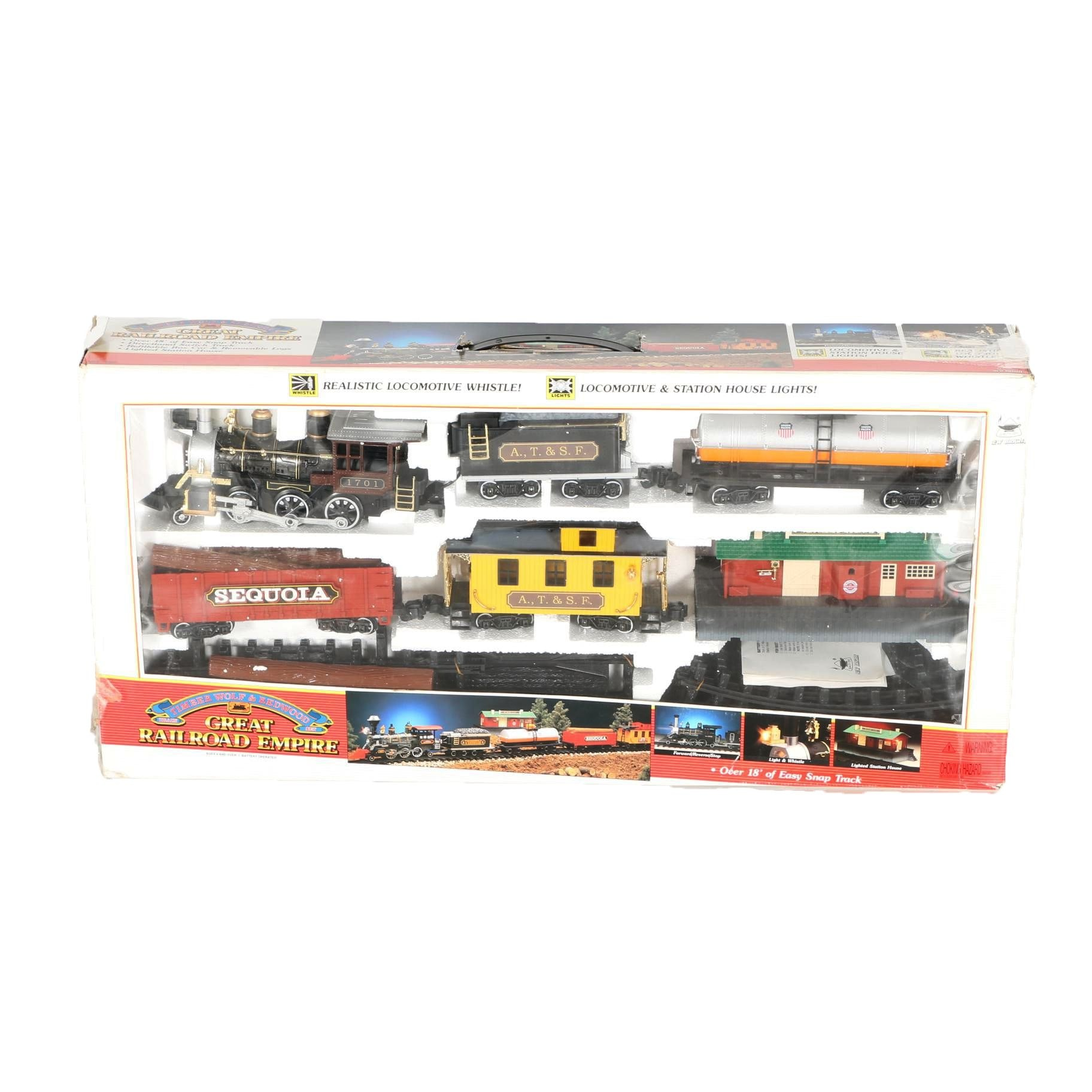 Timberwolf and Redwood Train Set