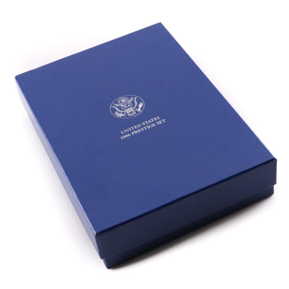 1986 U.S. Mint Liberty Prestige Set