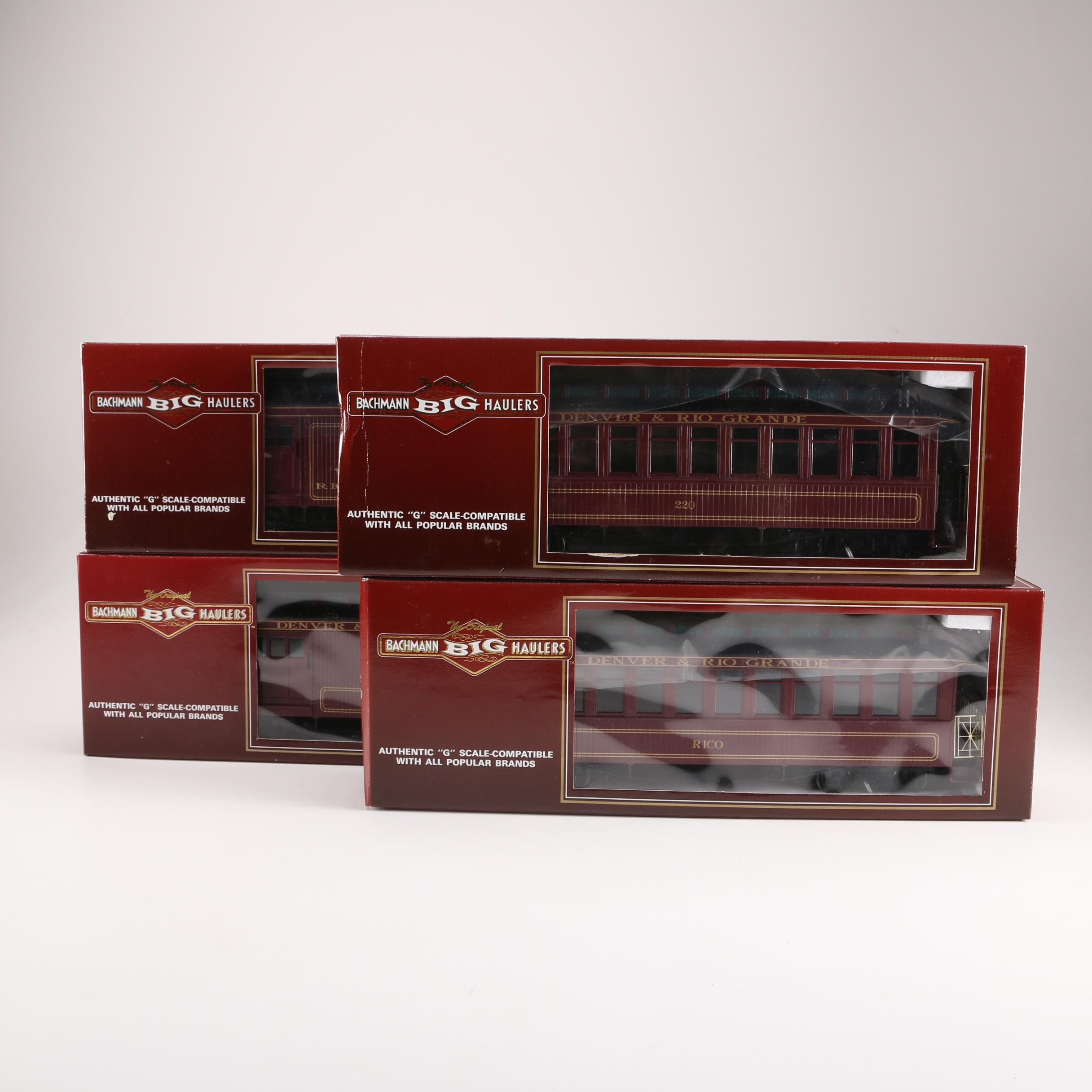 Bachmann Big Haulers G Scale Trains Featuring Denver & Rio Grande