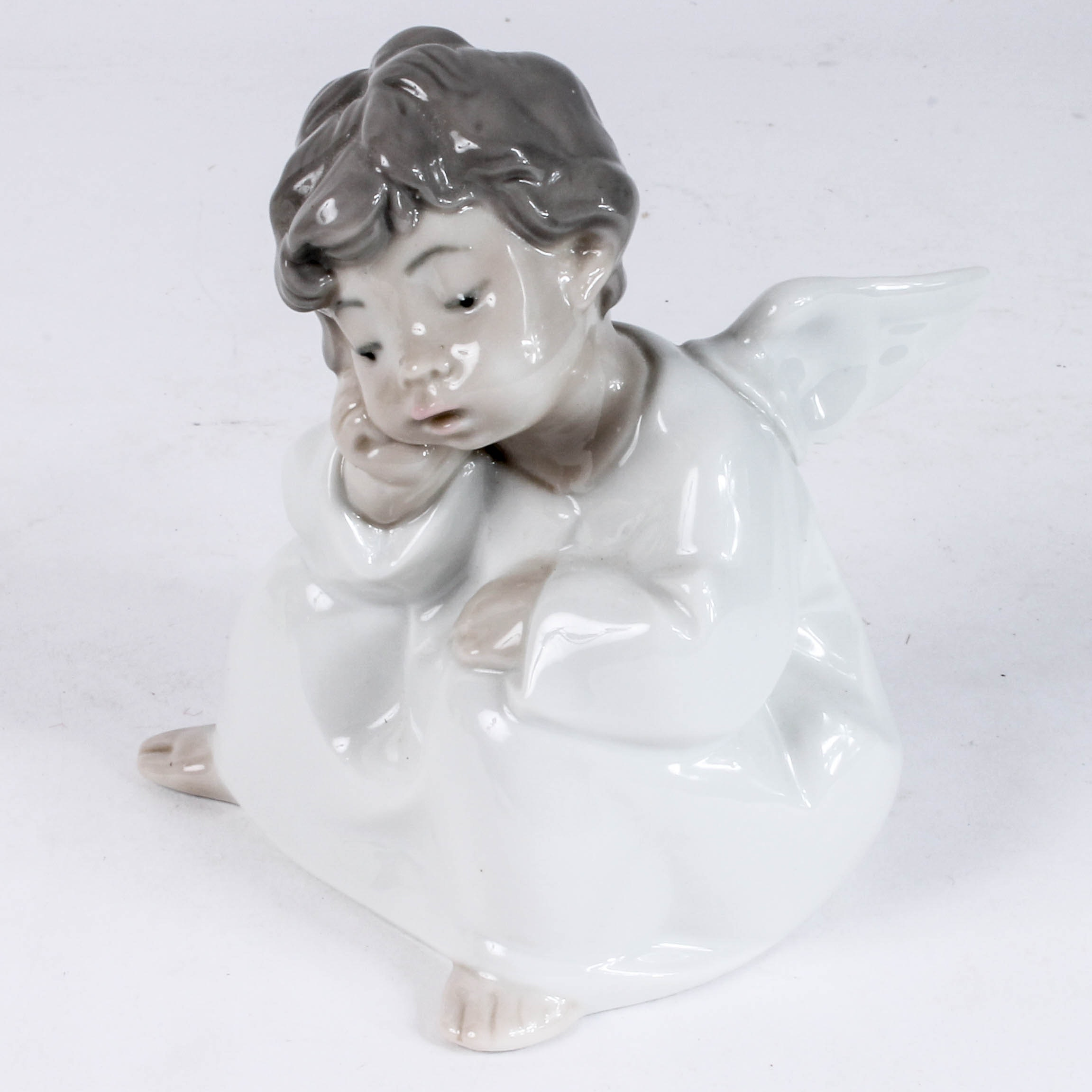 "Llardo Figurine ""Thinking Angel"""