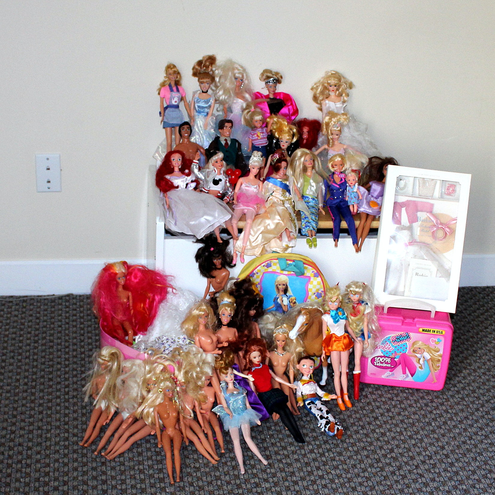 Barbie Dolls, Clothes, and More