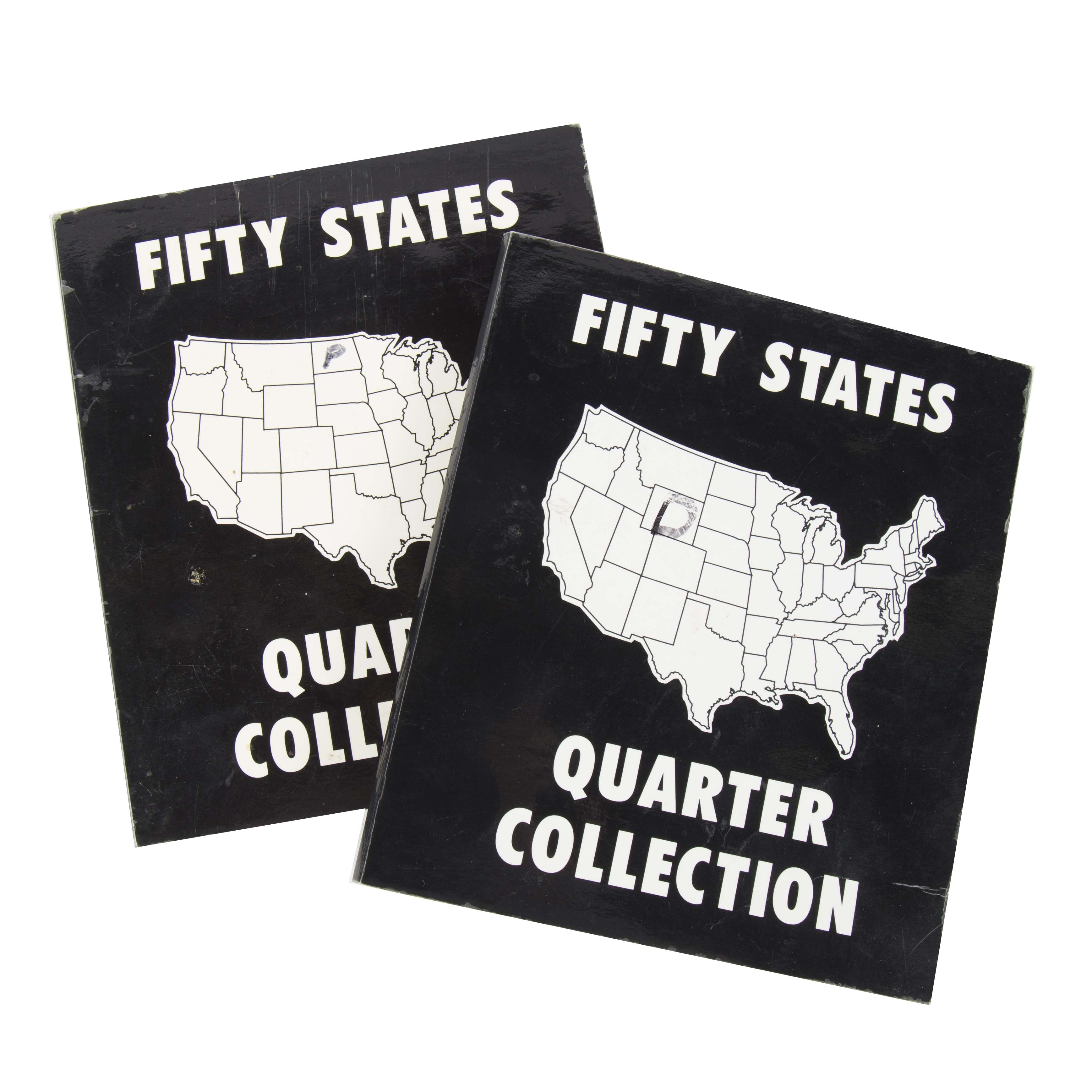 Complete Fifty States Quarter Collections