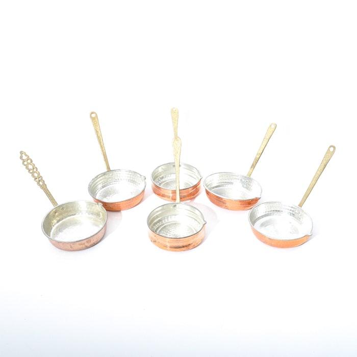 MIniature Copper Pans Collection