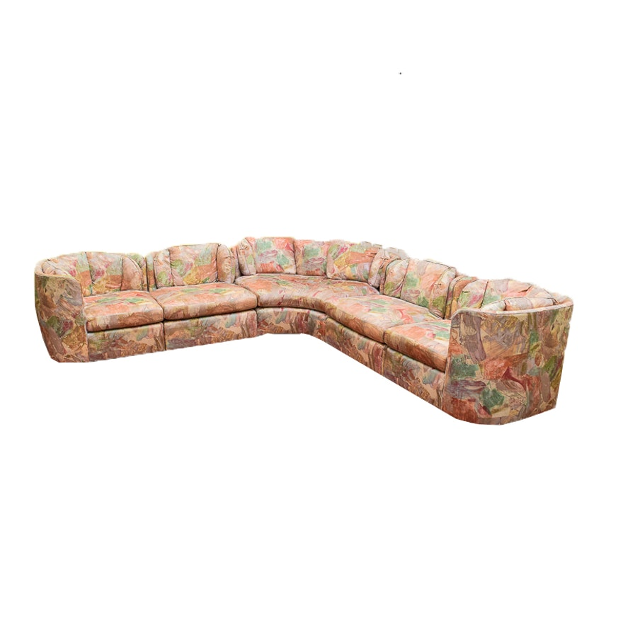 Henredon Multi Color Sectional Sofa