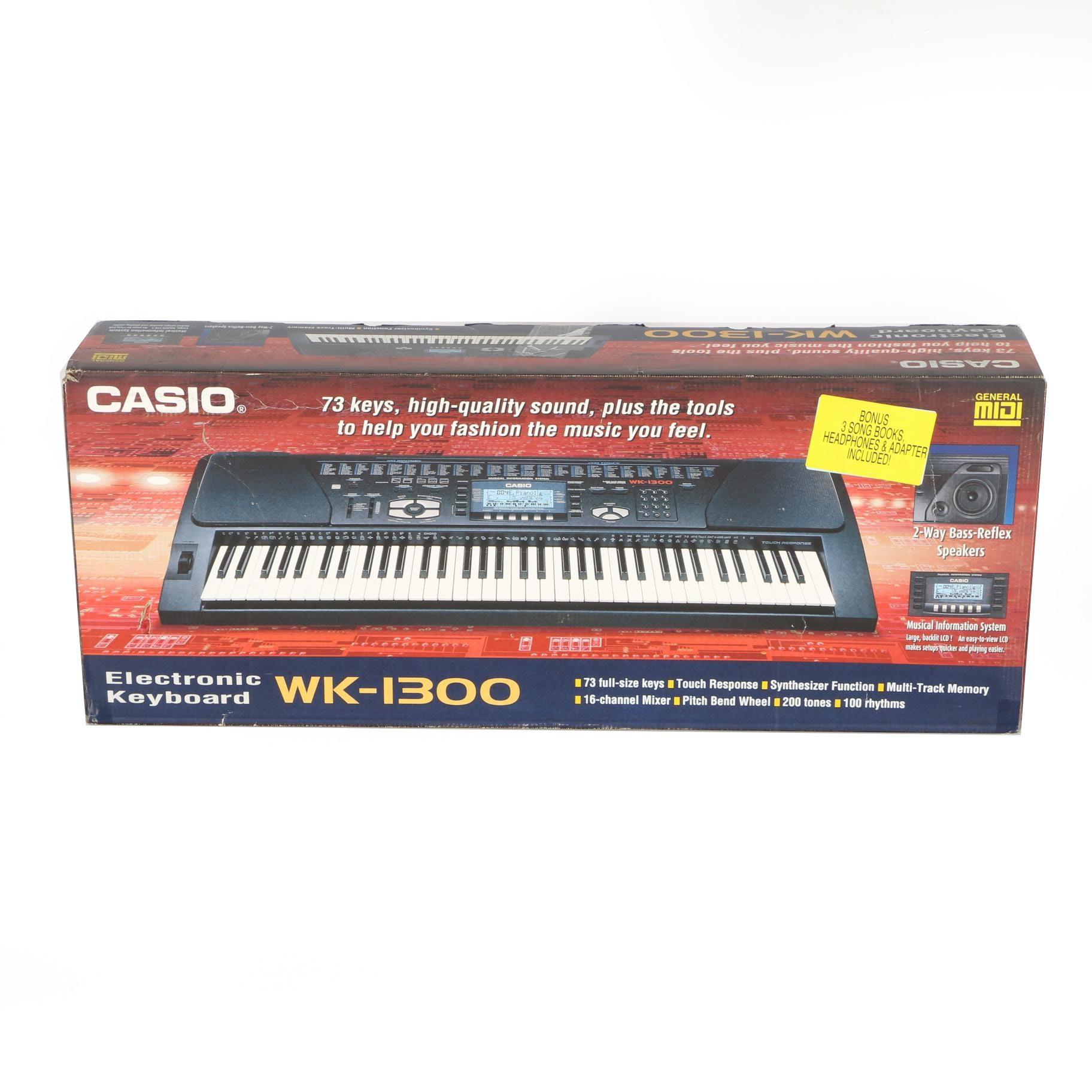 Casio WK-1300 Electronic Keyboard