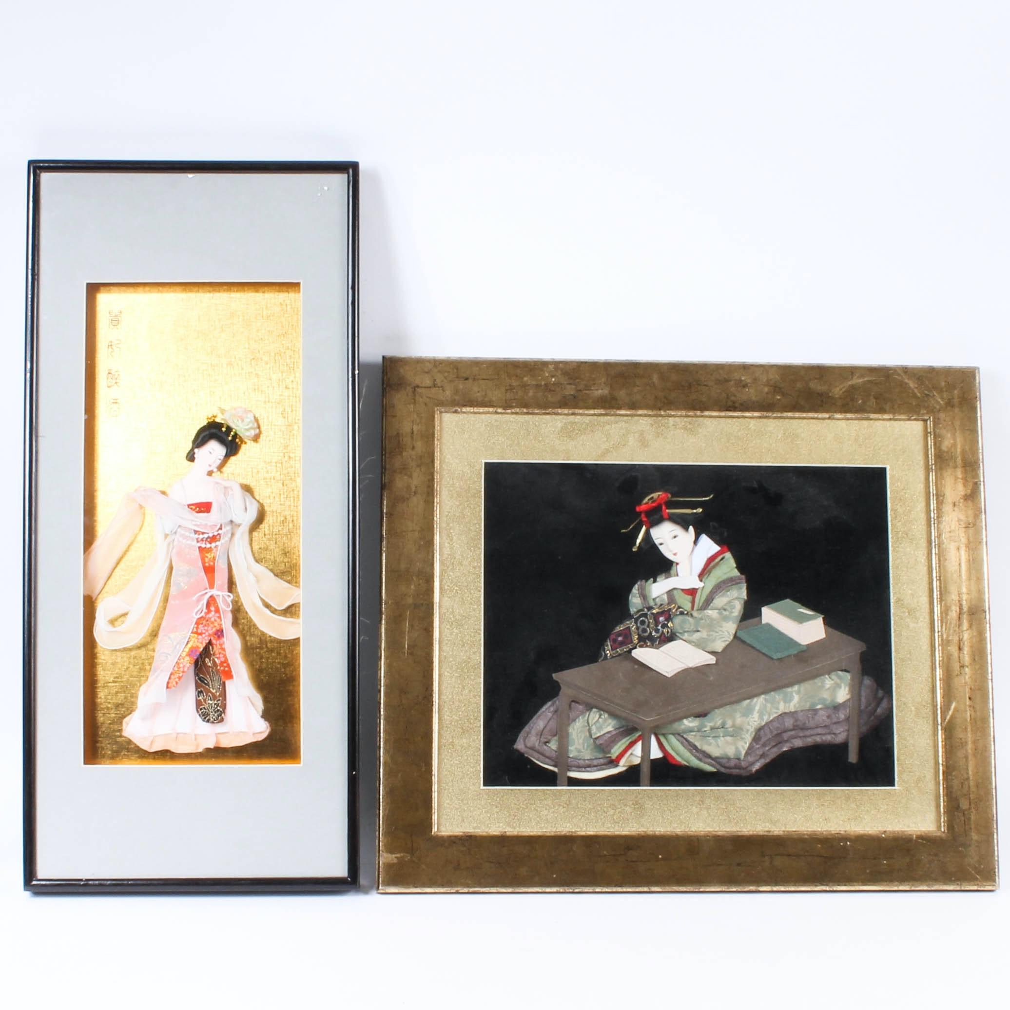 East Asian Shadowbox Art