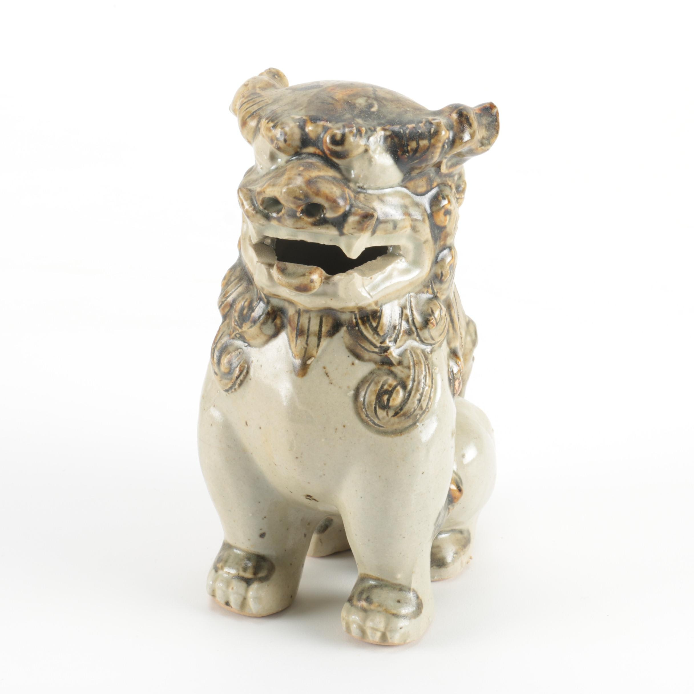 Guardian Lion Figure