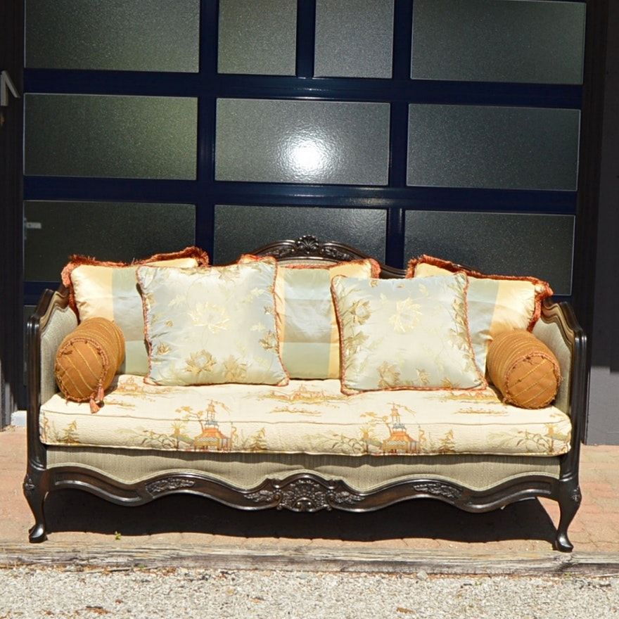 French Inspired Lillian August Sofa