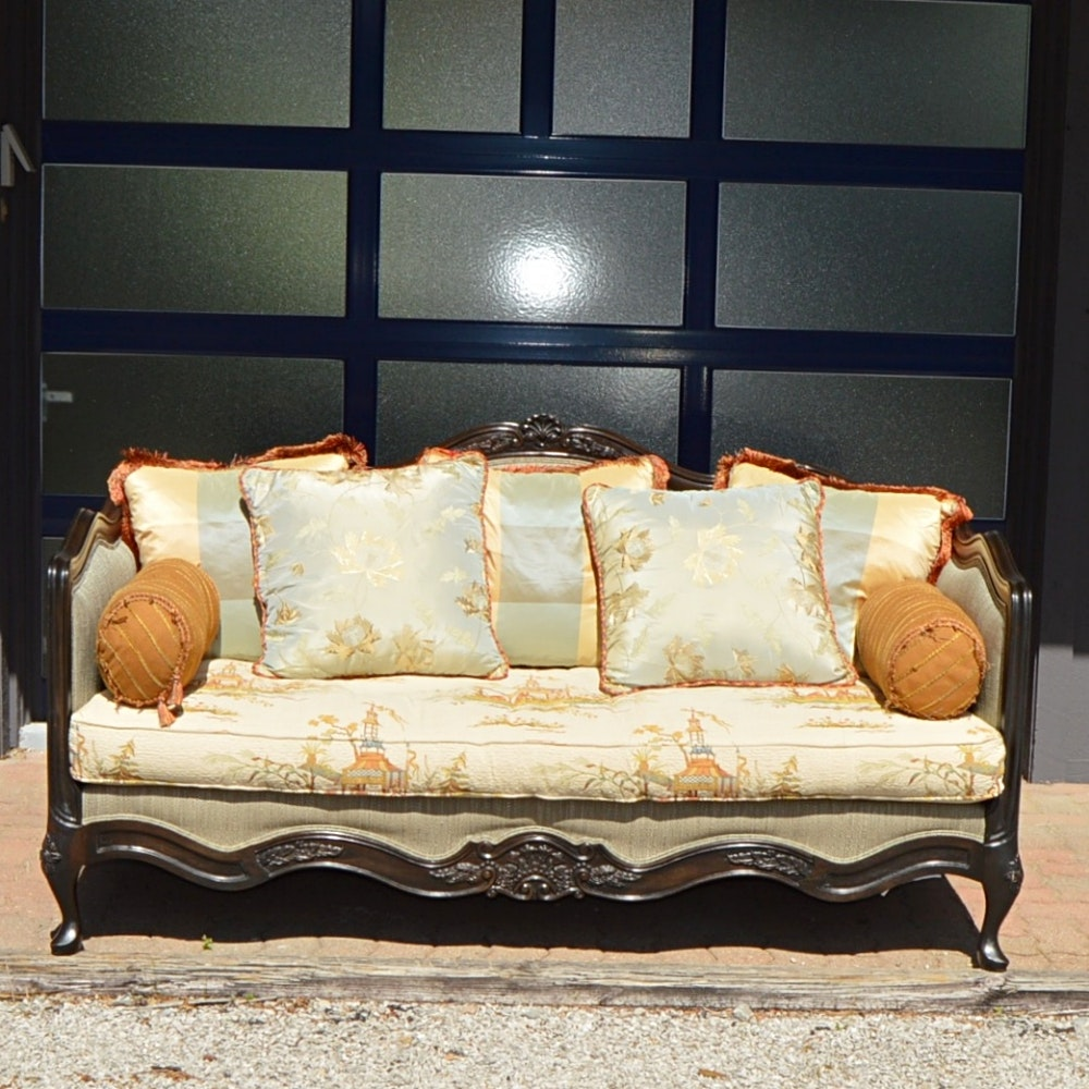 French Inspired Lillian August Sofa ...