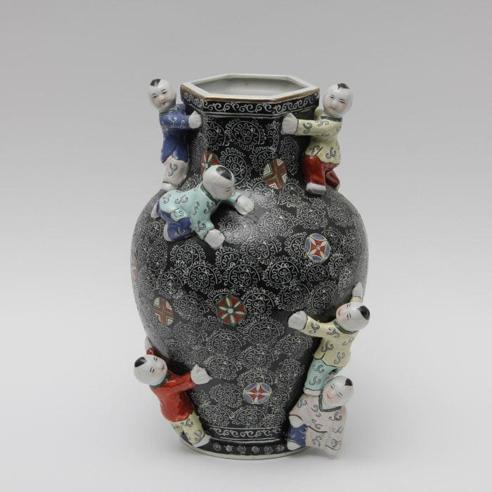 Chinese Ceramic Fertility Vase