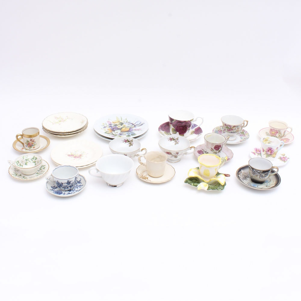 Large Assortment of Mix and Match China Including Limoges