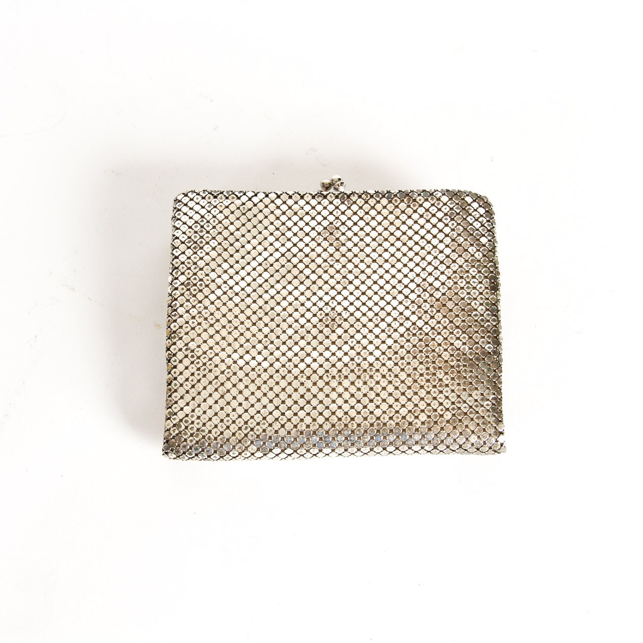 Vintage Chainmail Style Clutch Wallet