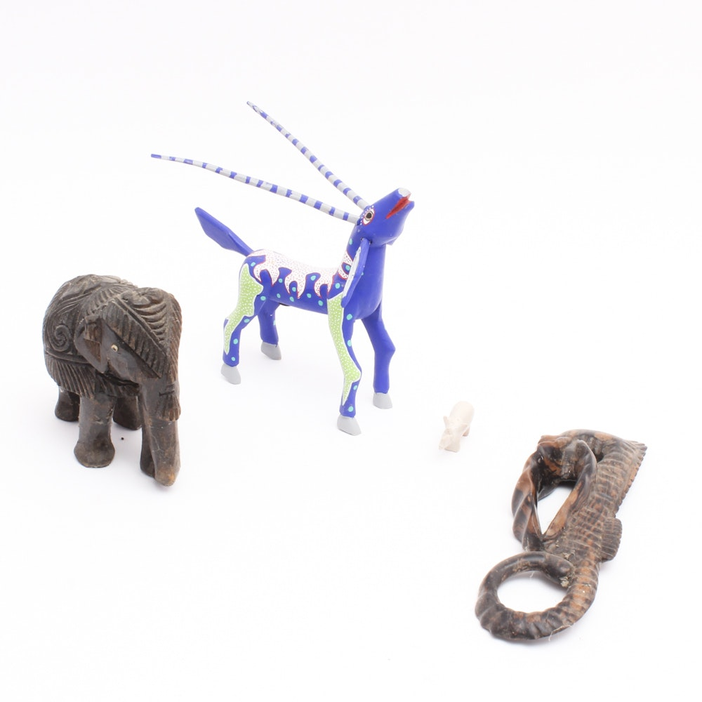 Ethnographic Art Figurines