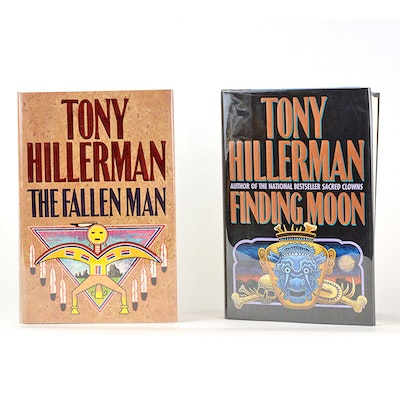 Signed First Edition Tony Hillerman Books