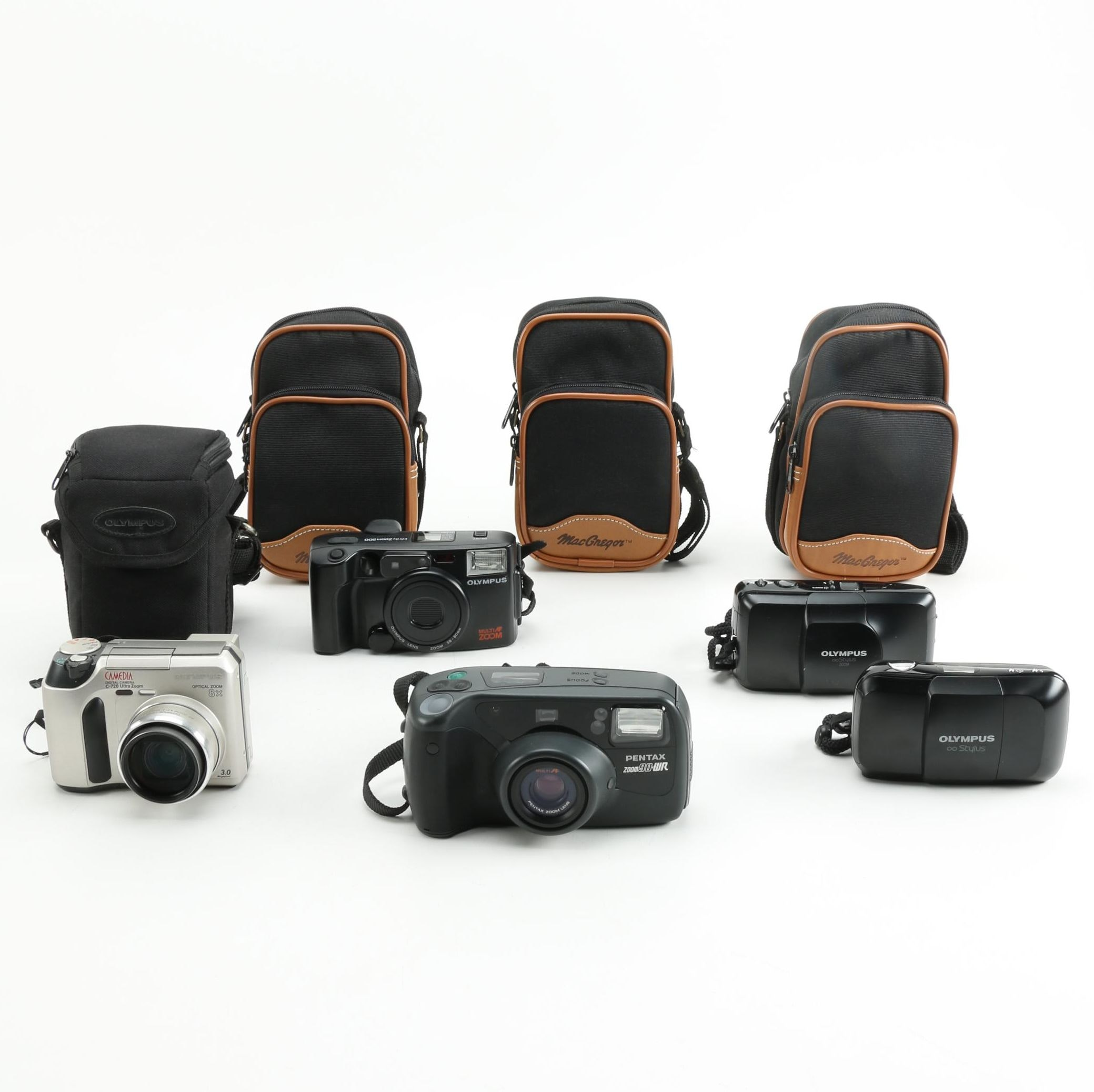 Olympus Cameras and Accessories