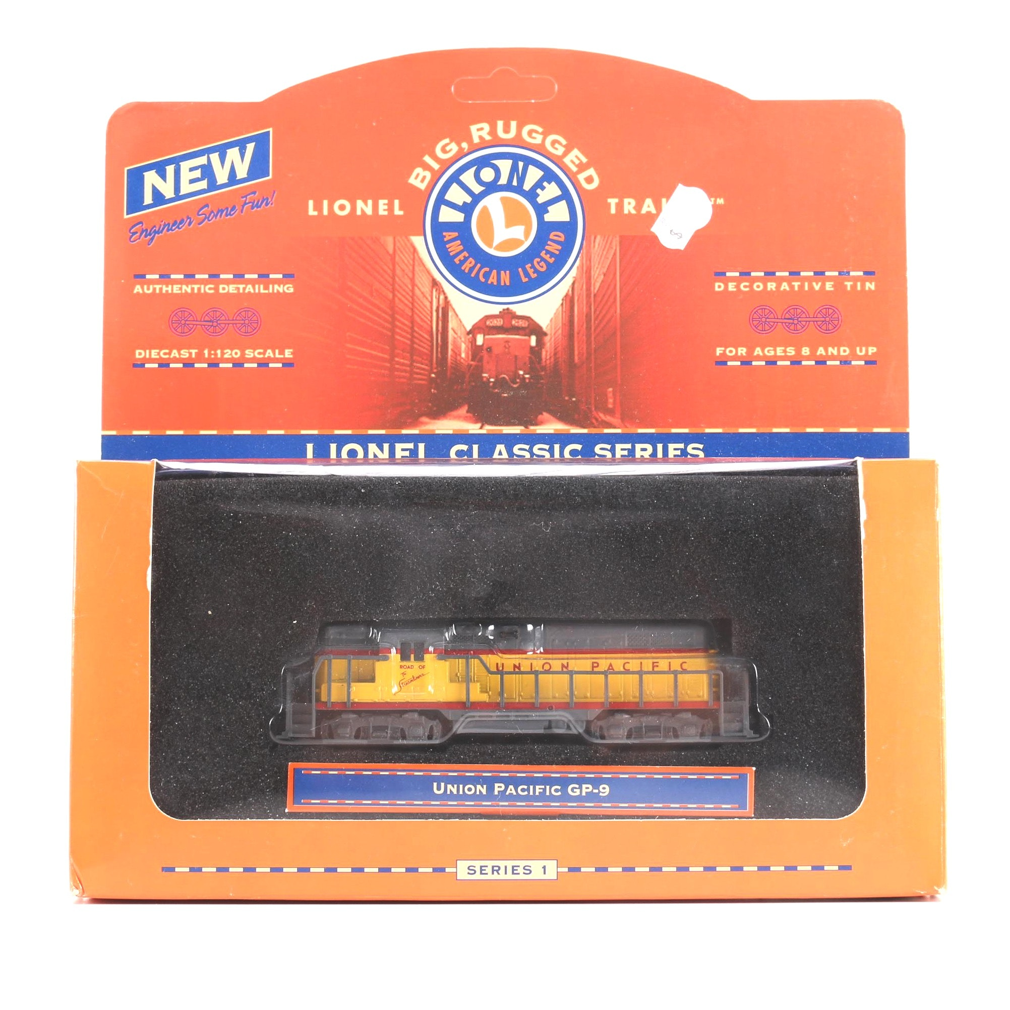 Lionel Classic Series Union Pacific GP-9 Engine