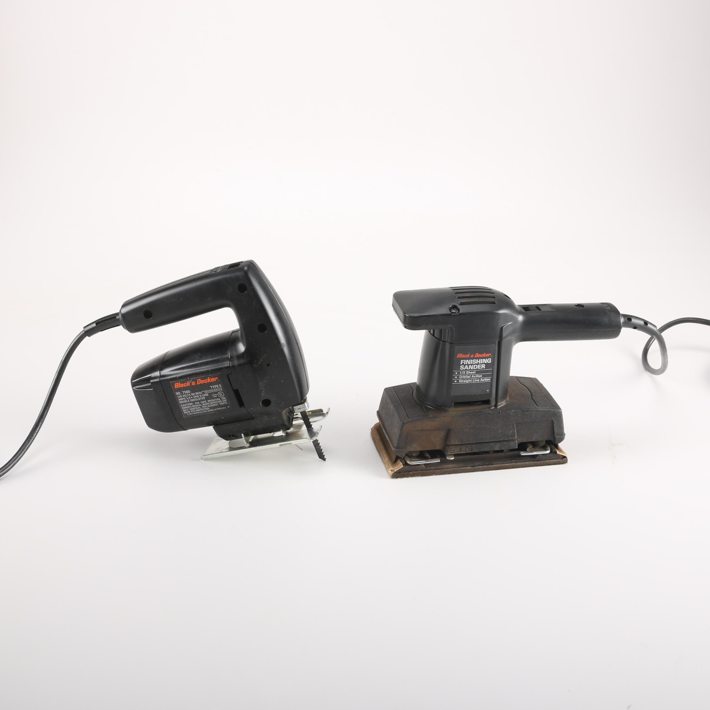 Black & Decker Power Sander and Jigsaw