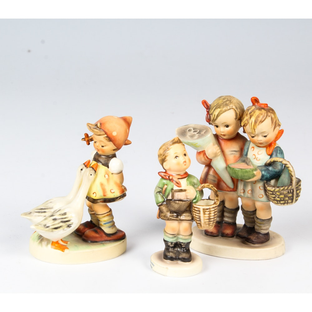 Collection of German Hummel Figurines