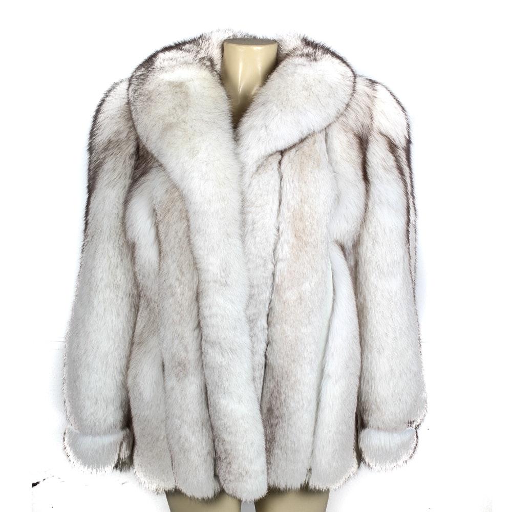 Blue Fox Fur Coat : EBTH