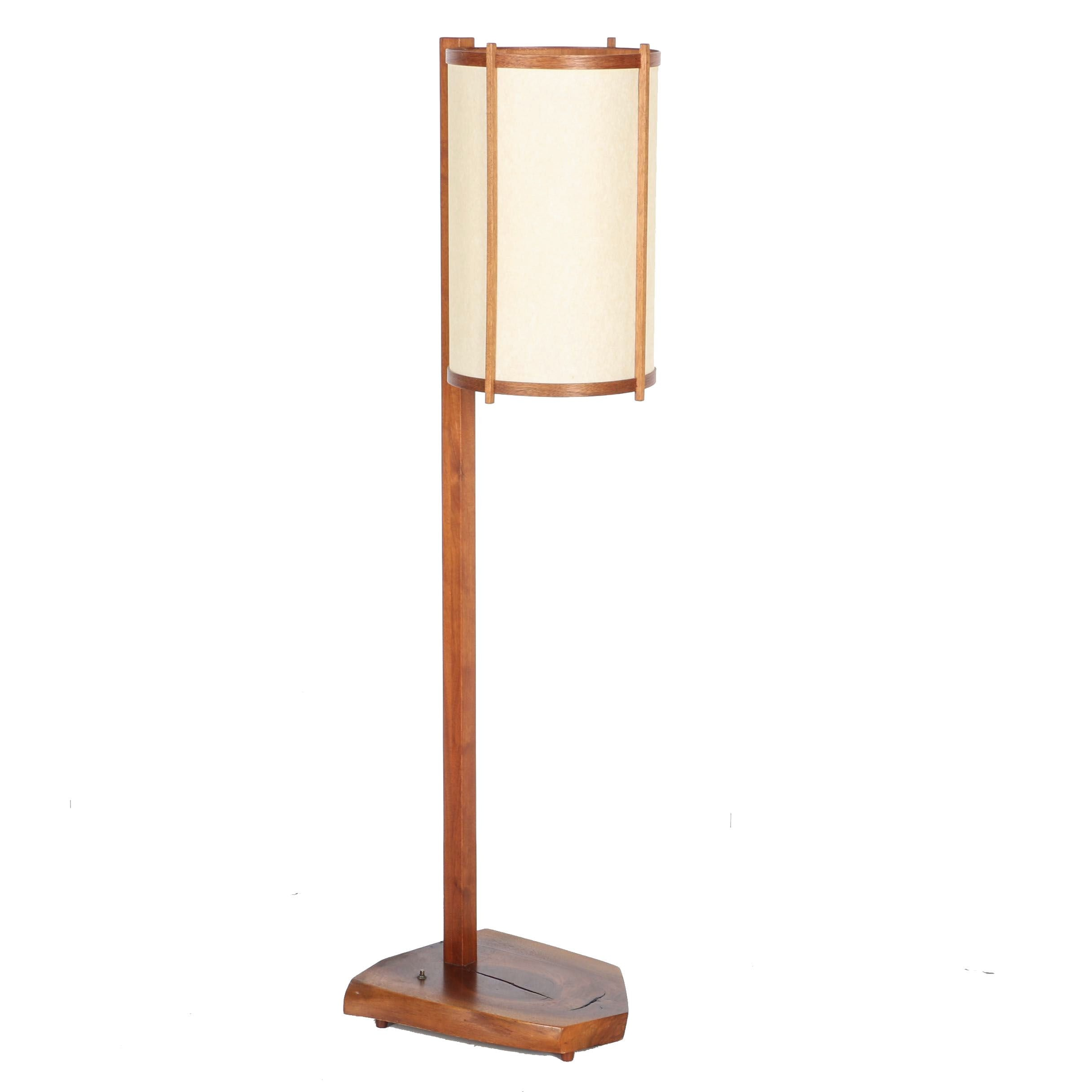 Vintage George Nakashima Floor Lamp With Provenance