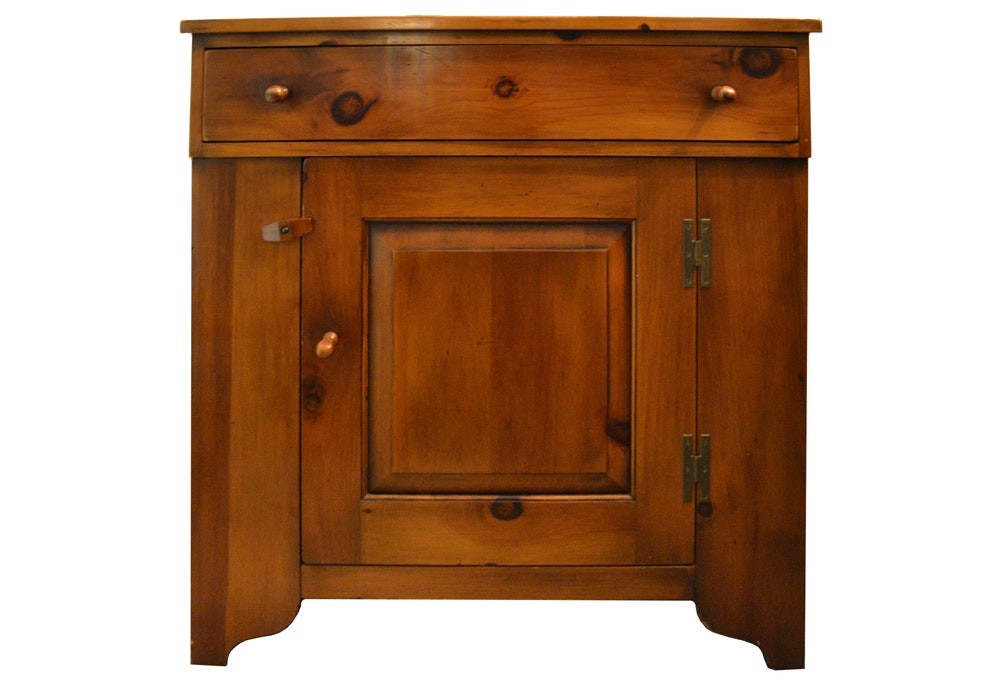 Pine Shop Cabinet