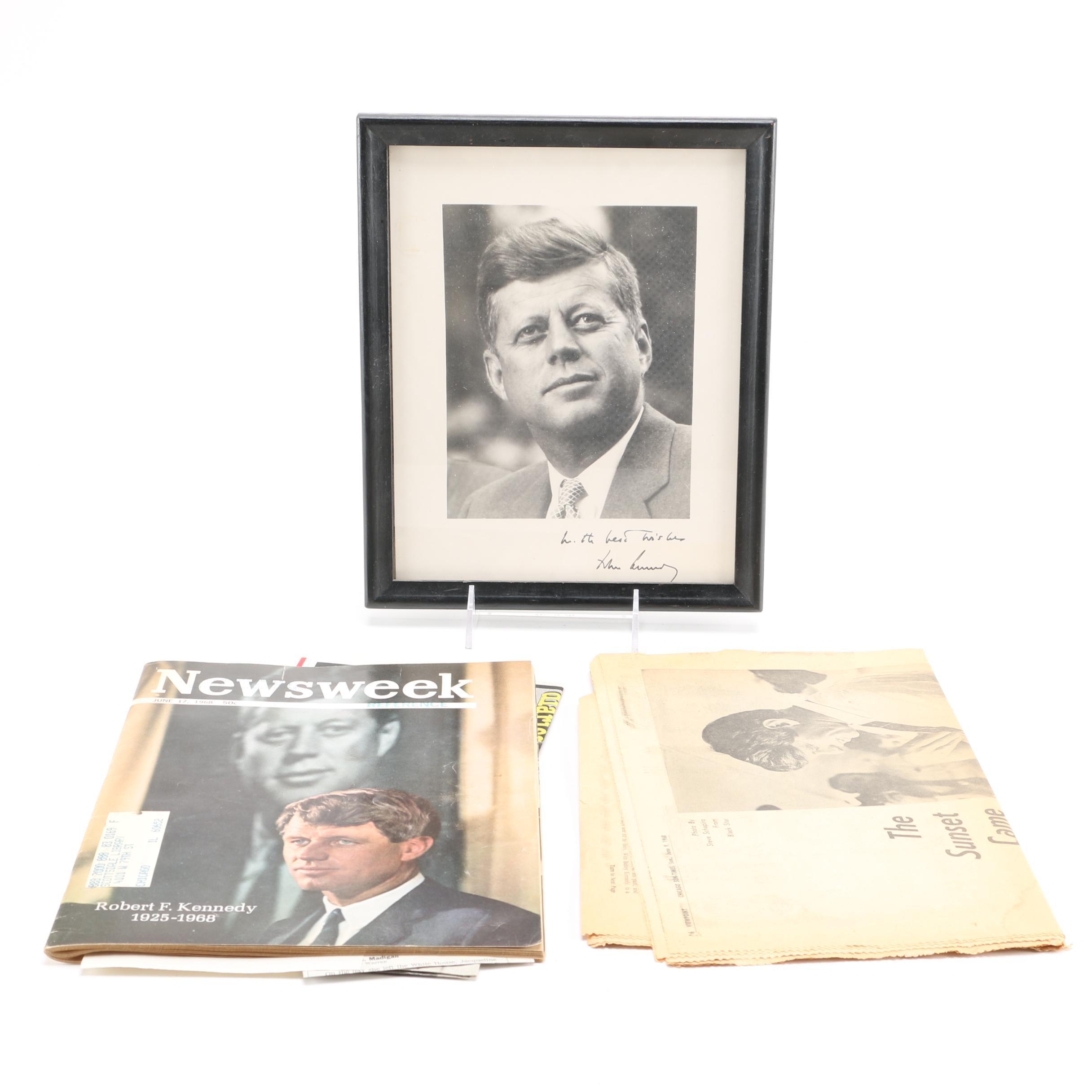 Kennedy Memorabilia