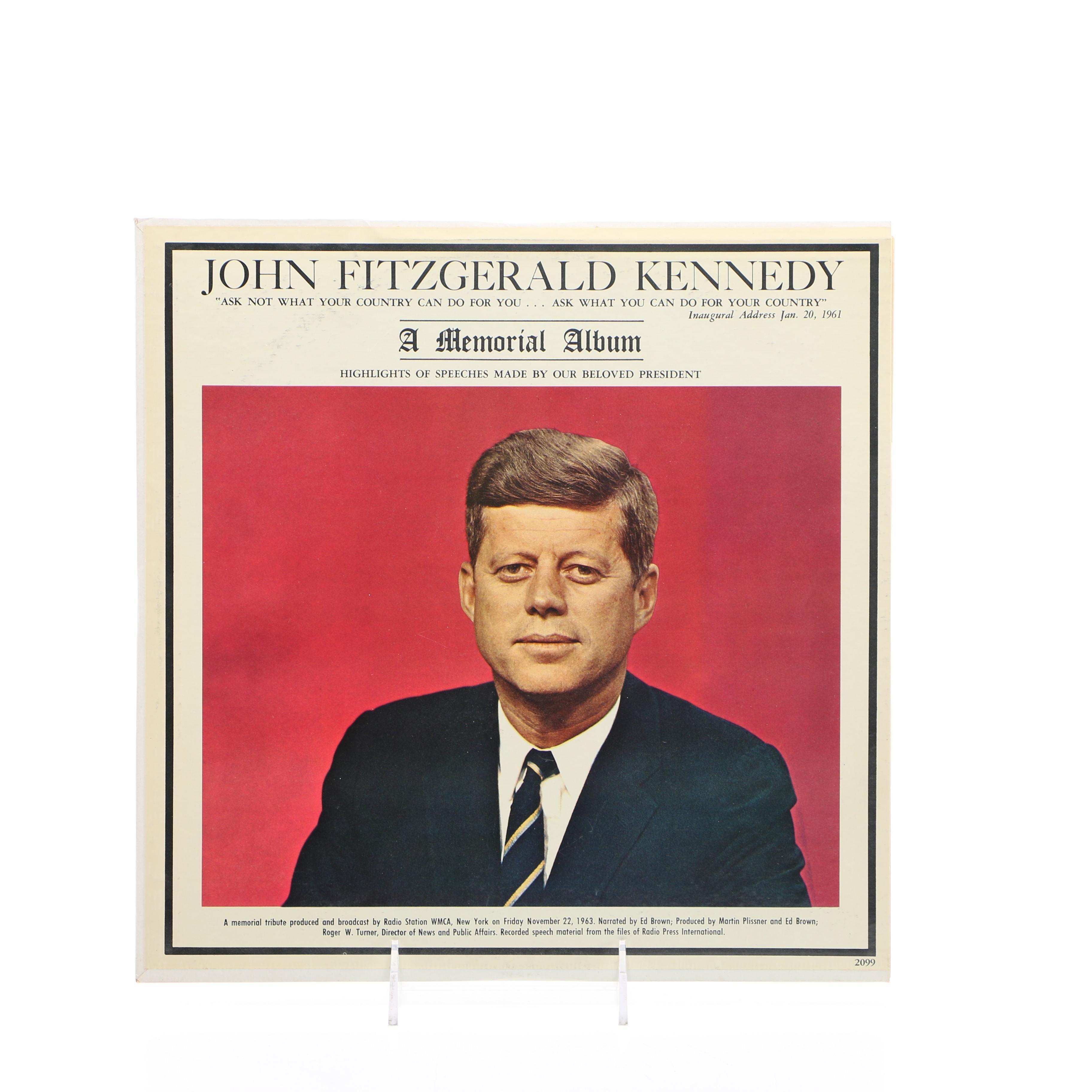Vintage JFK Memorial Album
